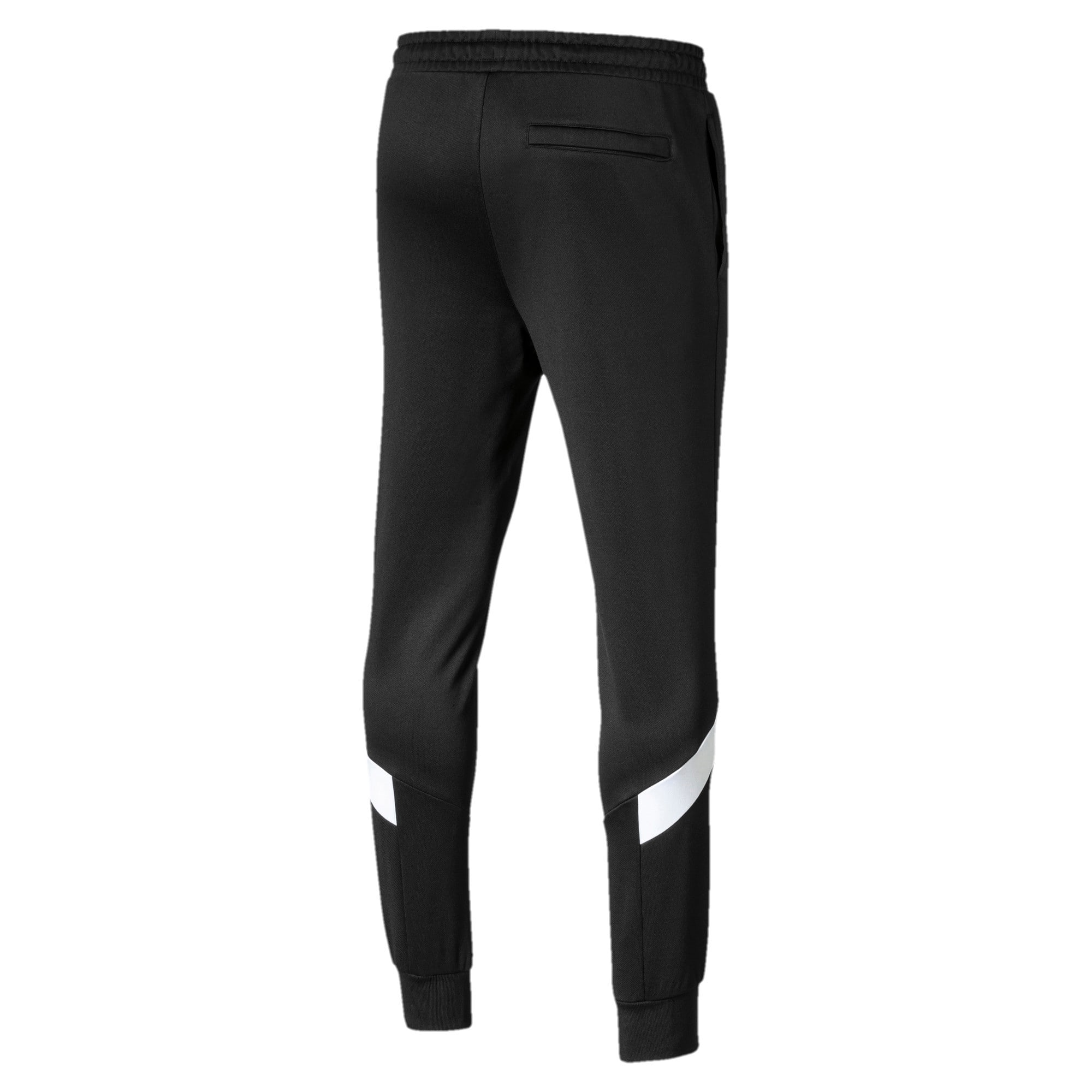 Thumbnail 5 of Iconic MCS Knitted Men's Track Pants, Puma Black, medium