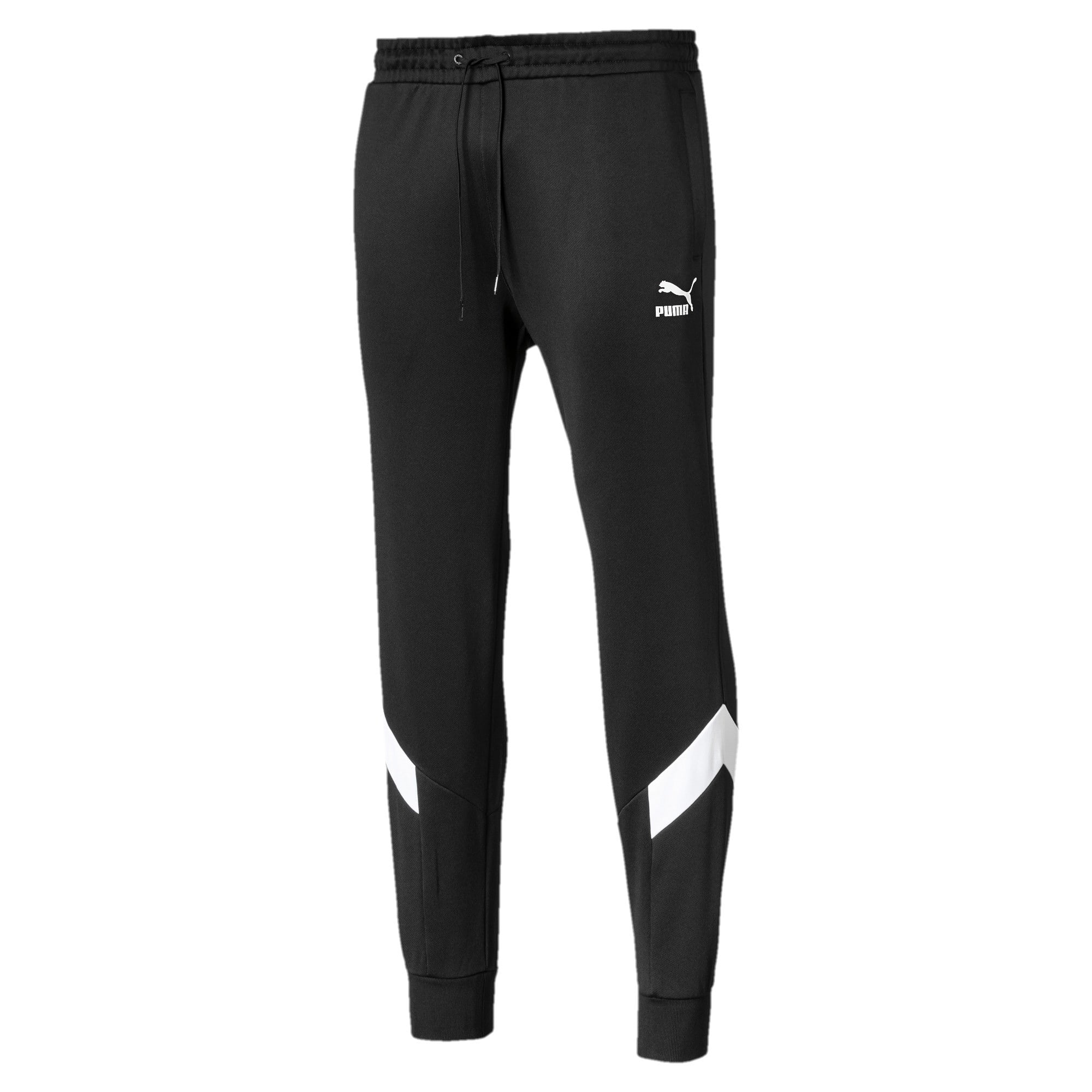 Thumbnail 4 of Iconic MCS Knitted Men's Track Pants, Puma Black, medium