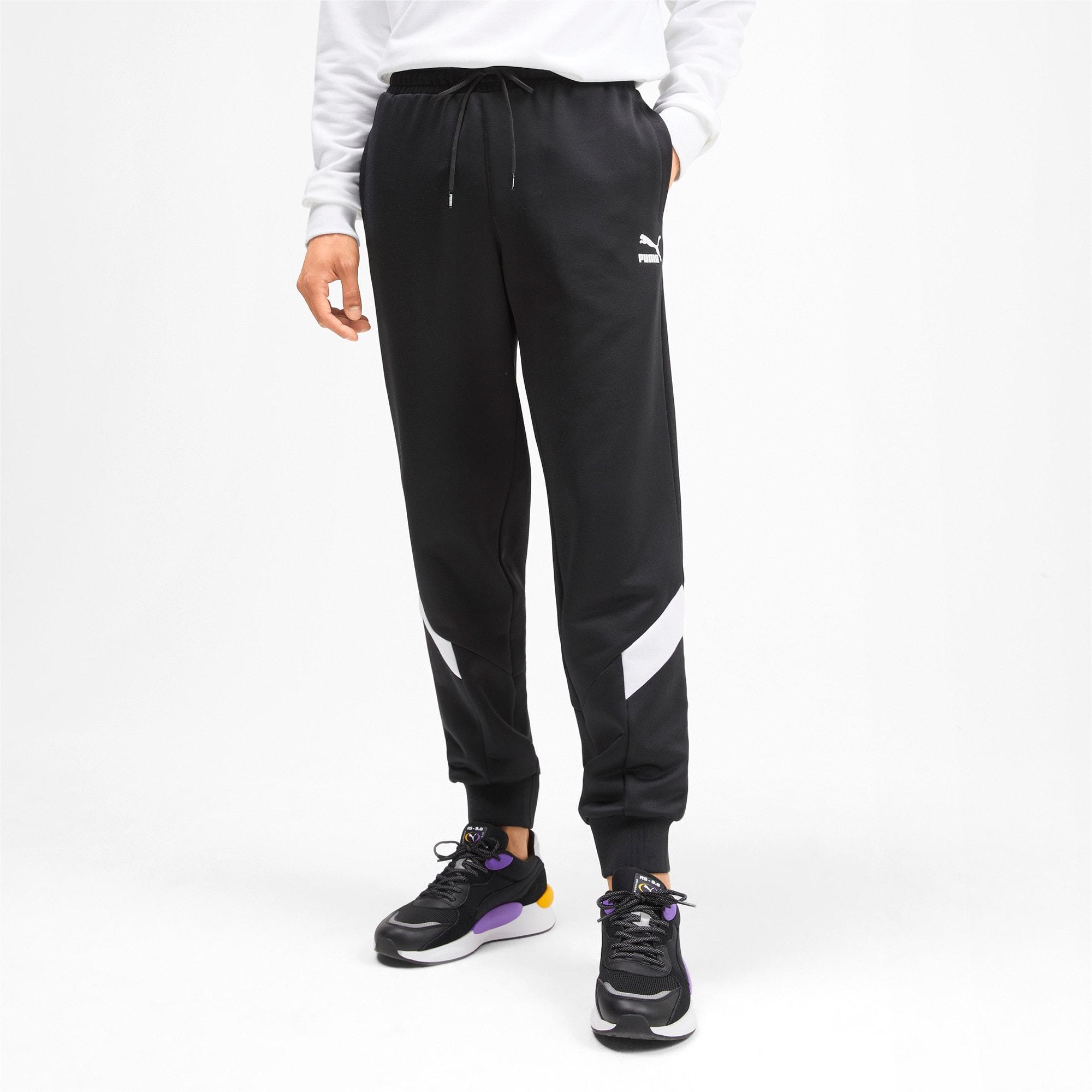 Thumbnail 1 of Iconic MCS Men's Track Pants, Puma Black, medium