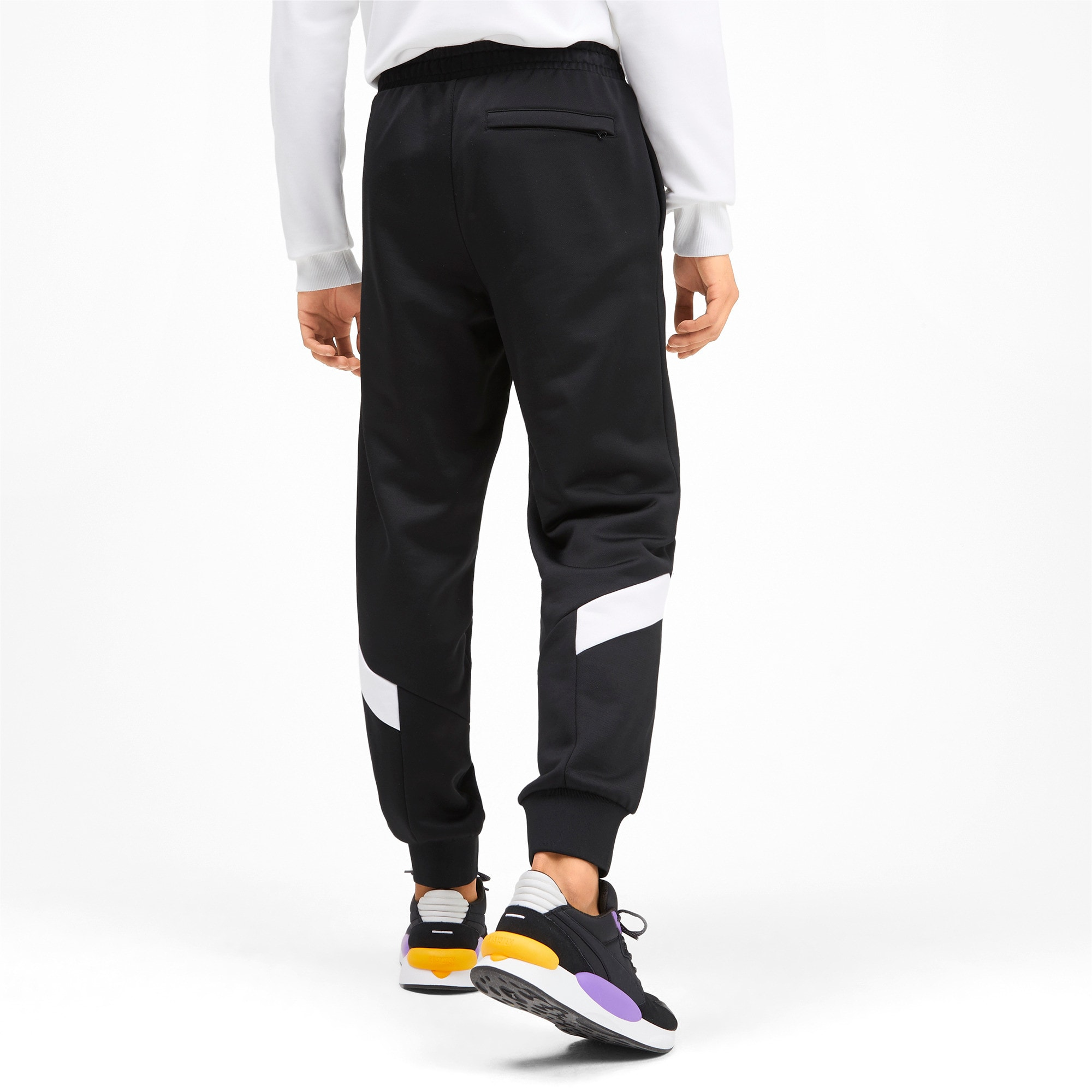 Thumbnail 2 of Iconic MCS Knitted Men's Track Pants, Puma Black, medium