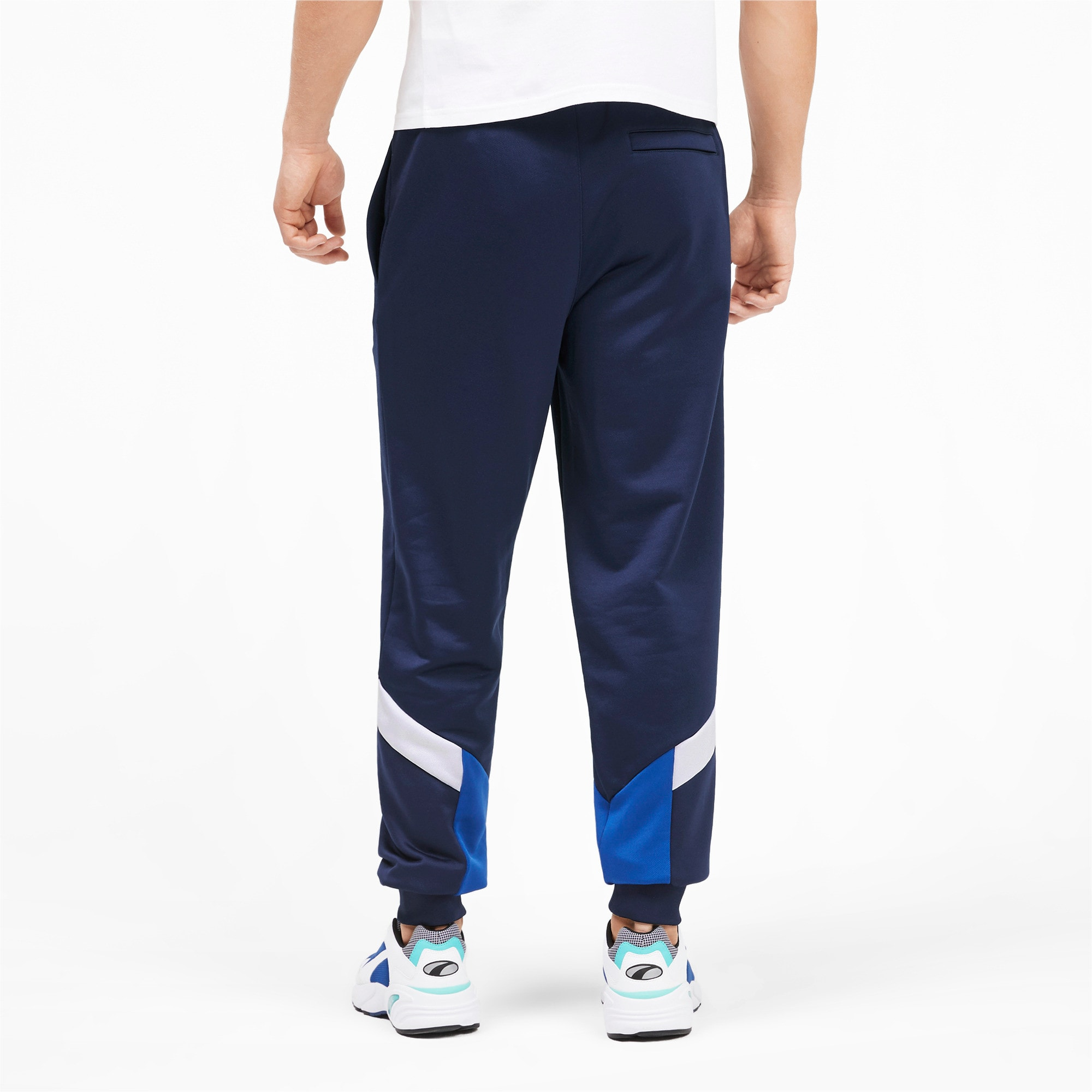 Thumbnail 3 of Iconic MCS Men's Track Pants, Peacoat, medium