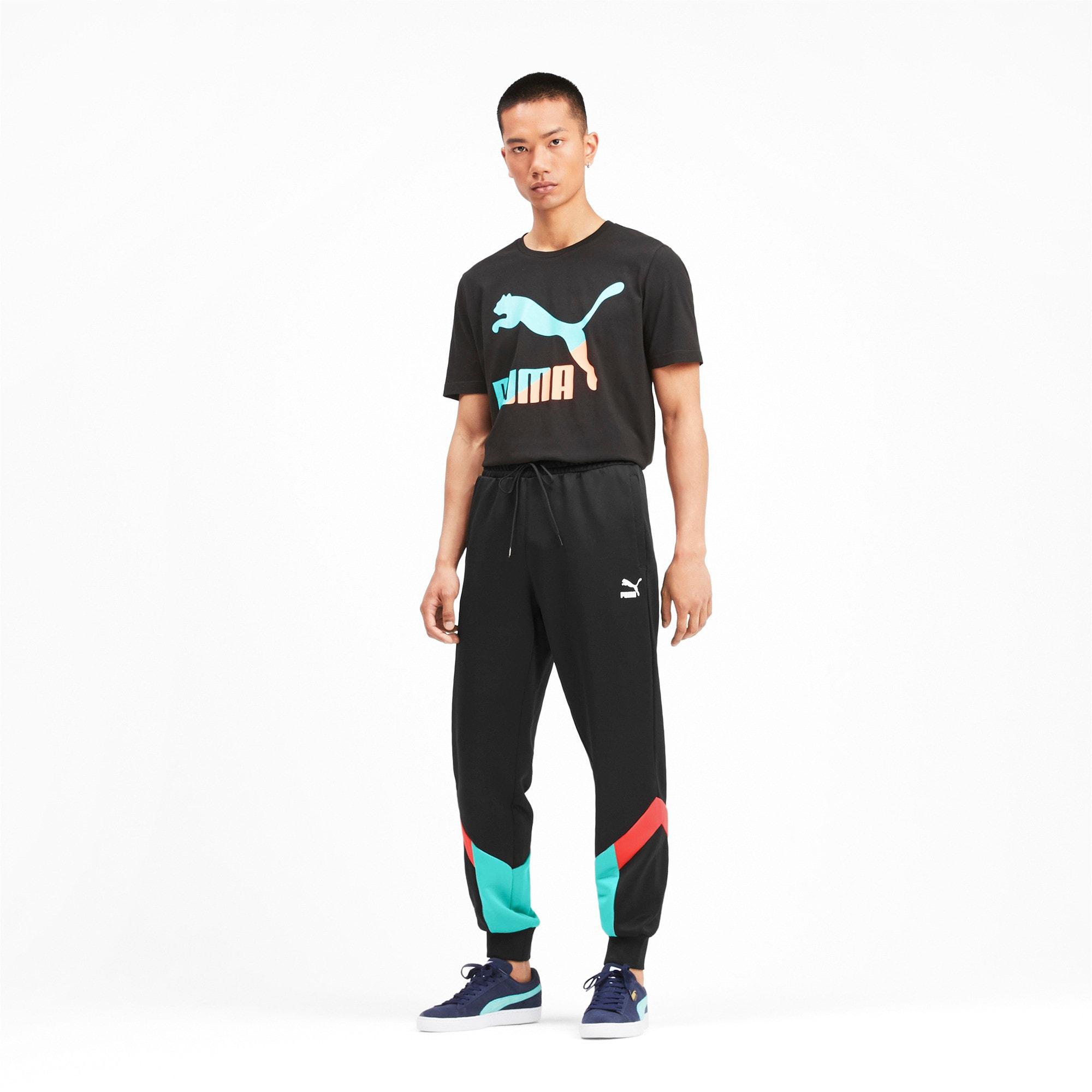 Thumbnail 4 of Iconic MCS Men's Track Pants, Puma Black, medium