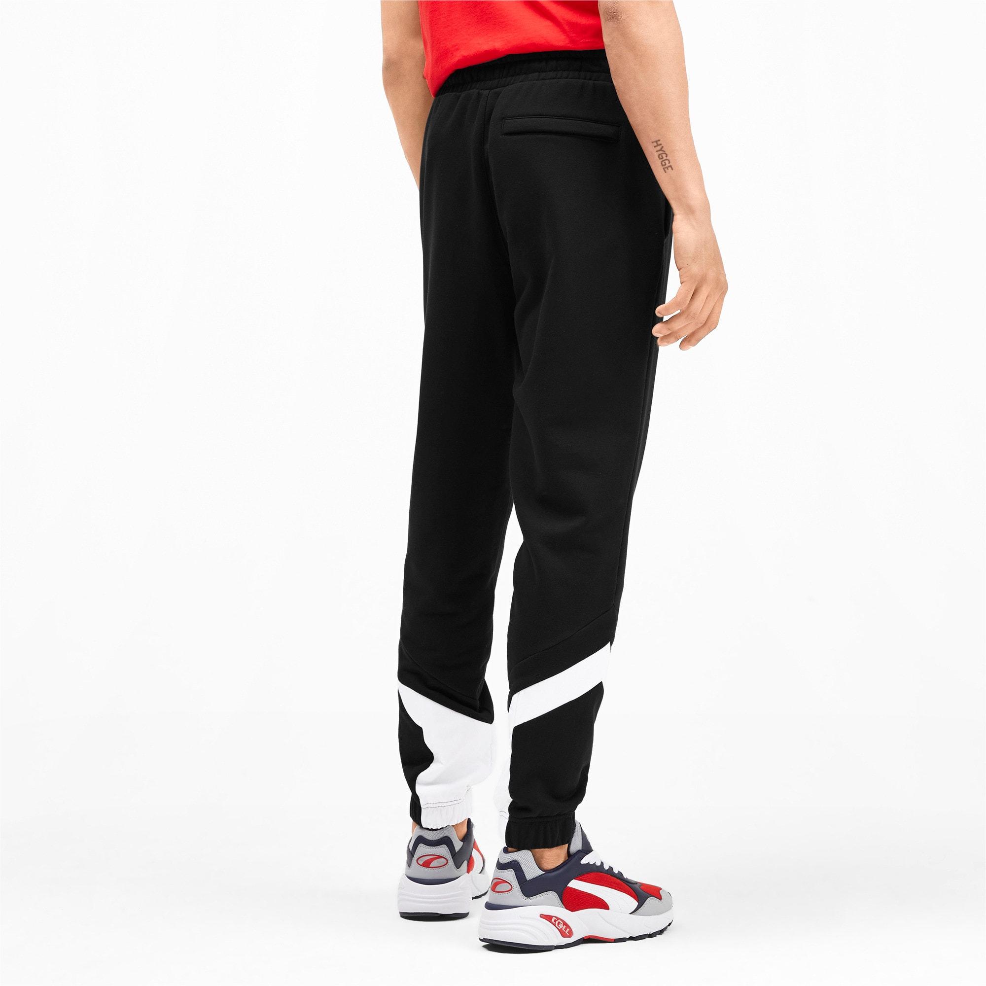 Miniatura 3 de Pantalones deportivos Iconic MCS de hombre, Puma Black, mediano