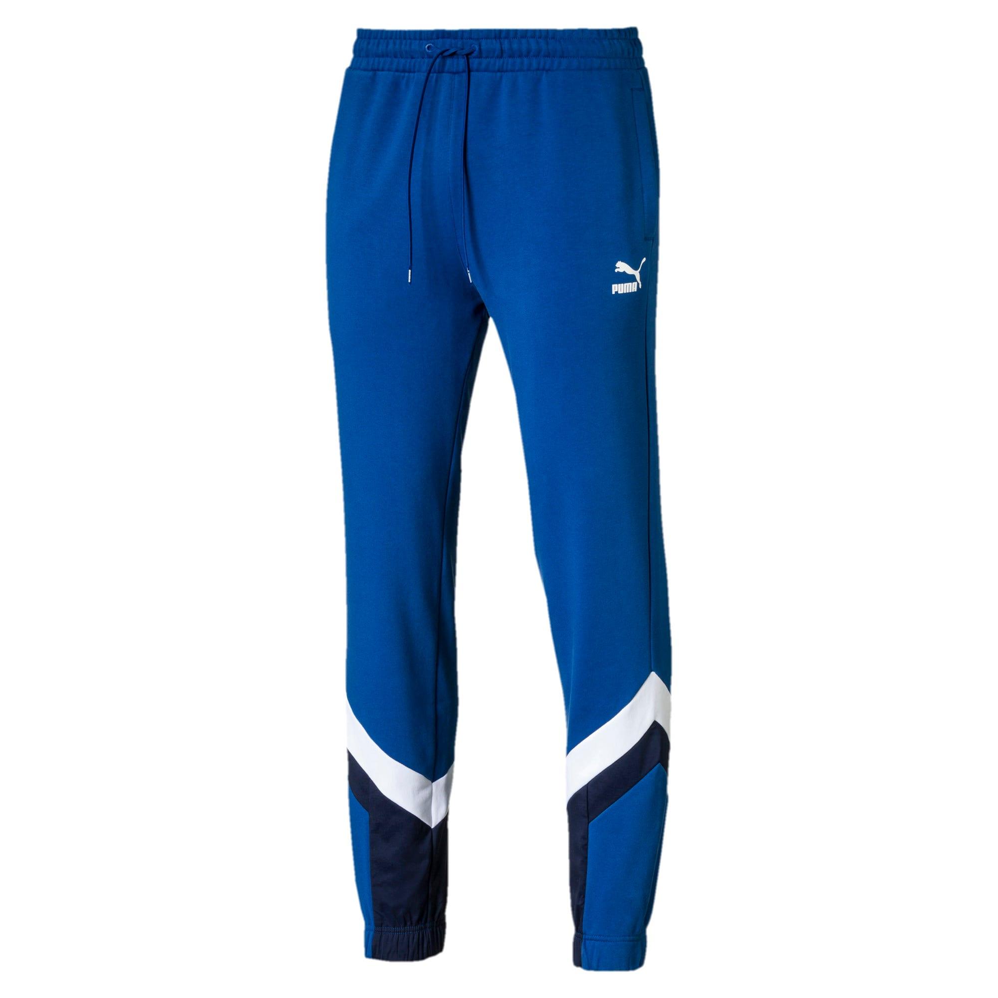 Thumbnail 1 of Iconic MCS Men's Track Pants, Galaxy Blue, medium