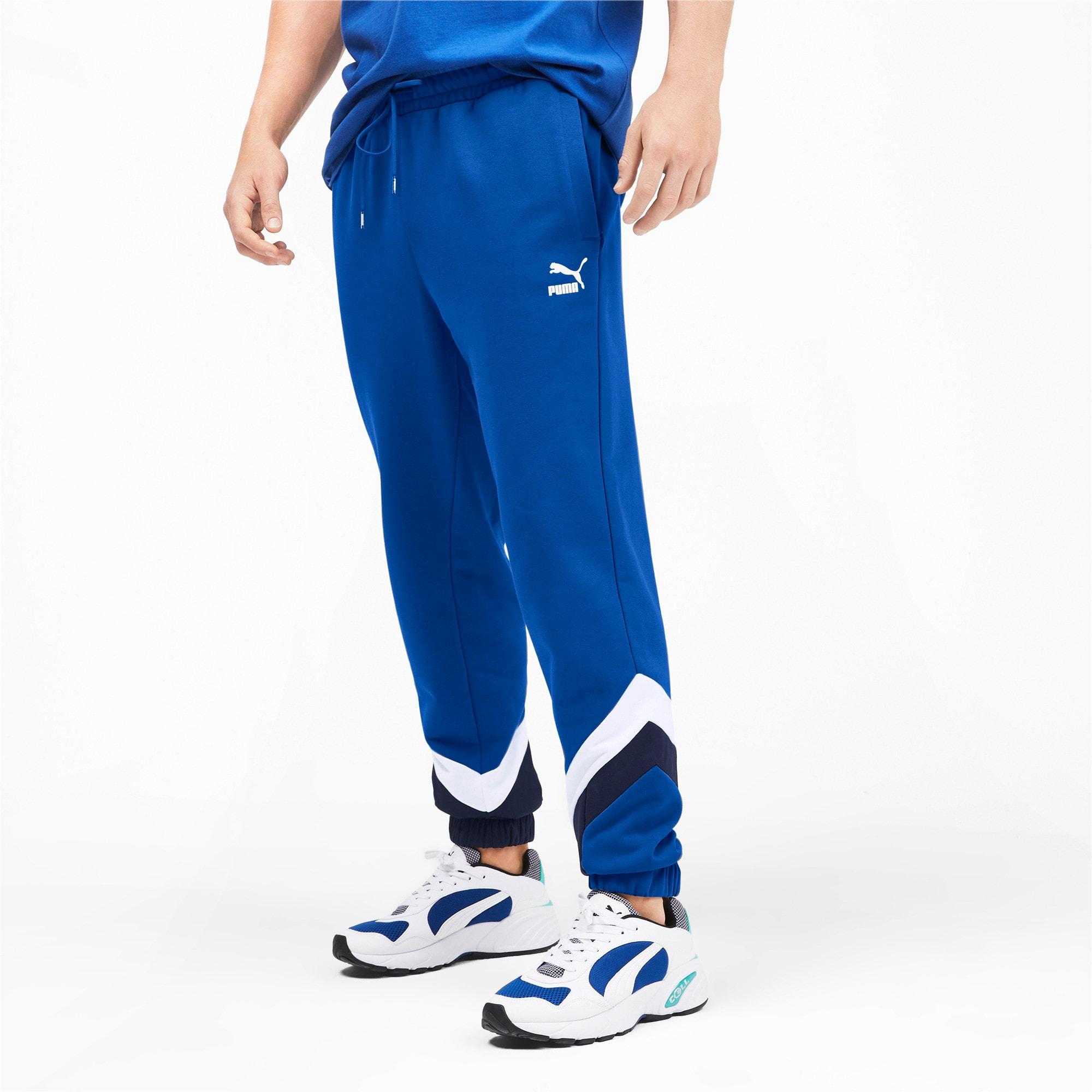 Thumbnail 2 of Iconic MCS Men's Track Pants, Galaxy Blue, medium