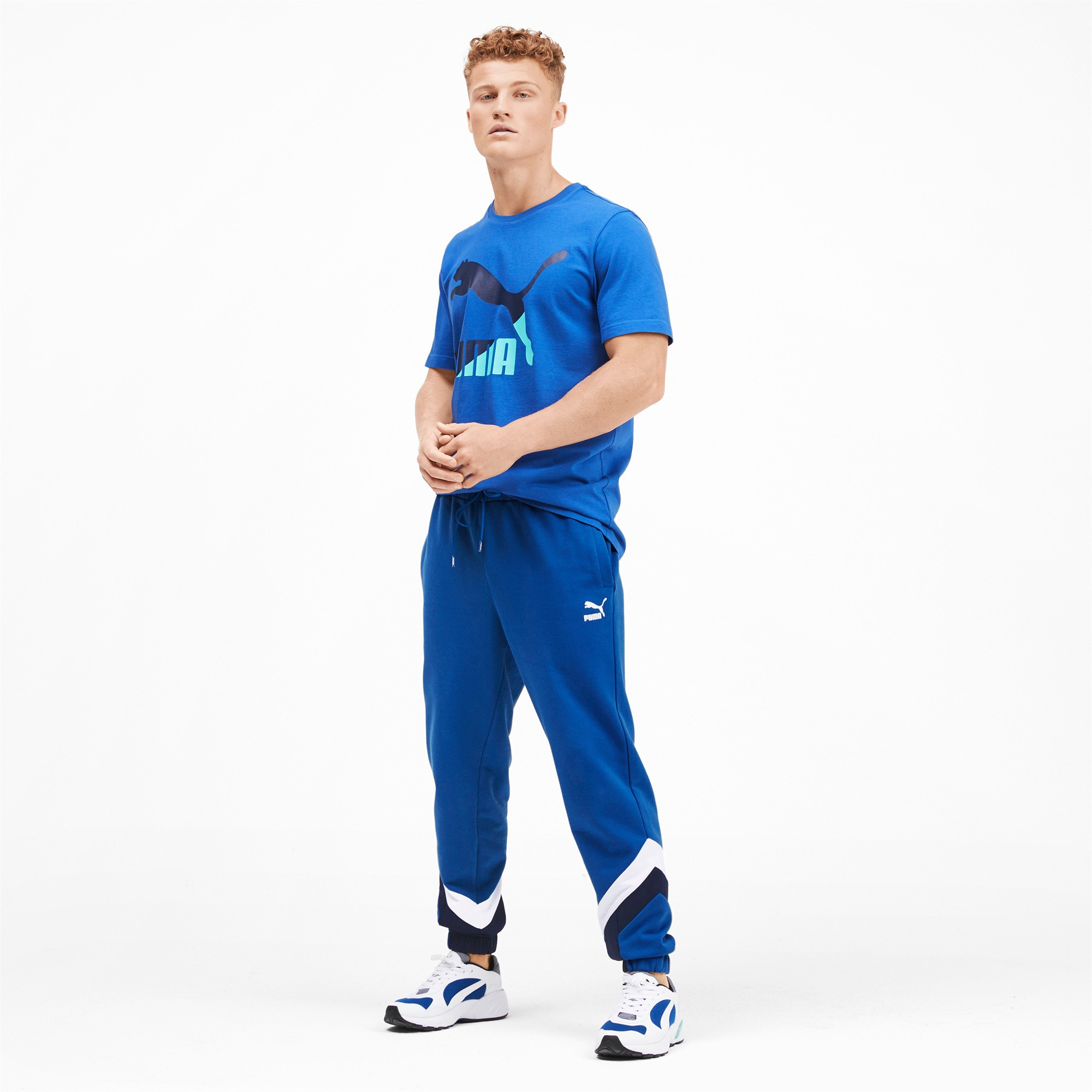 Thumbnail 4 of Iconic MCS Men's Track Pants, Galaxy Blue, medium
