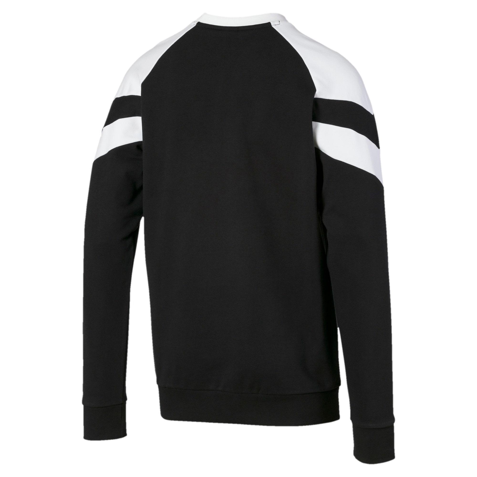 Thumbnail 5 of Iconic MCS Crew Men's Sweater, Puma Black, medium