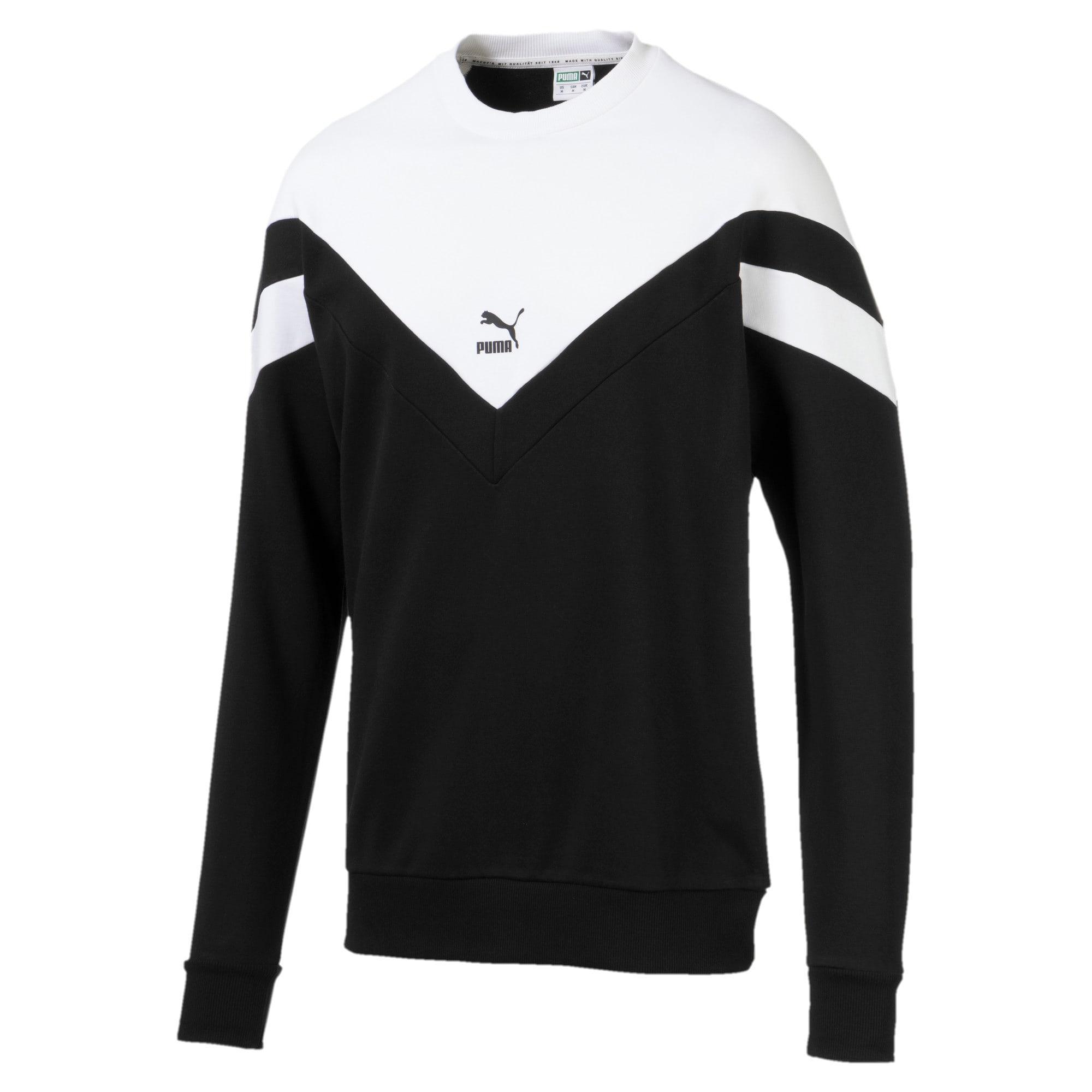 Thumbnail 1 of Iconic MCS Crew Men's Sweater, Puma Black, medium