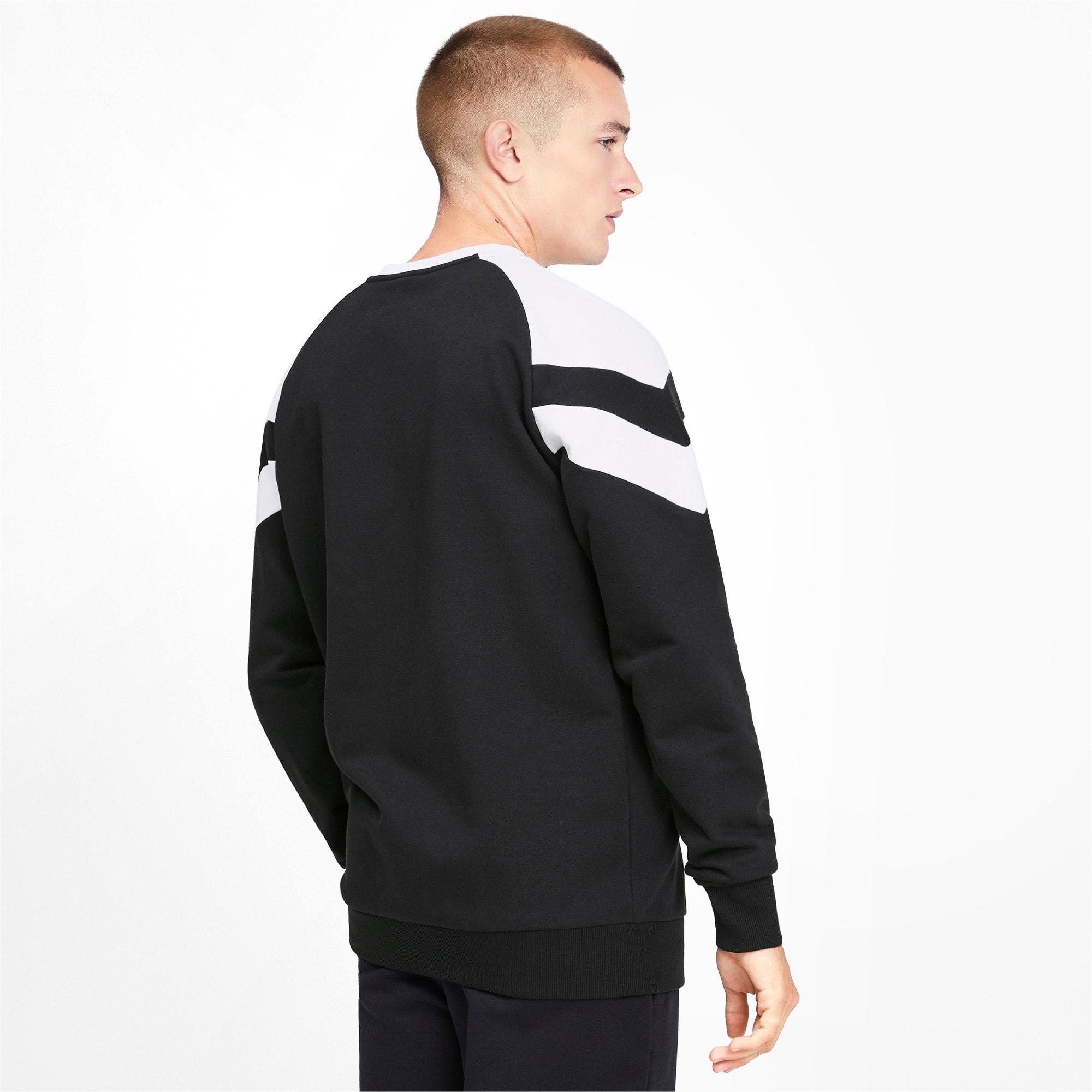 Thumbnail 3 of Iconic MCS Crew Men's Sweater, Puma Black, medium