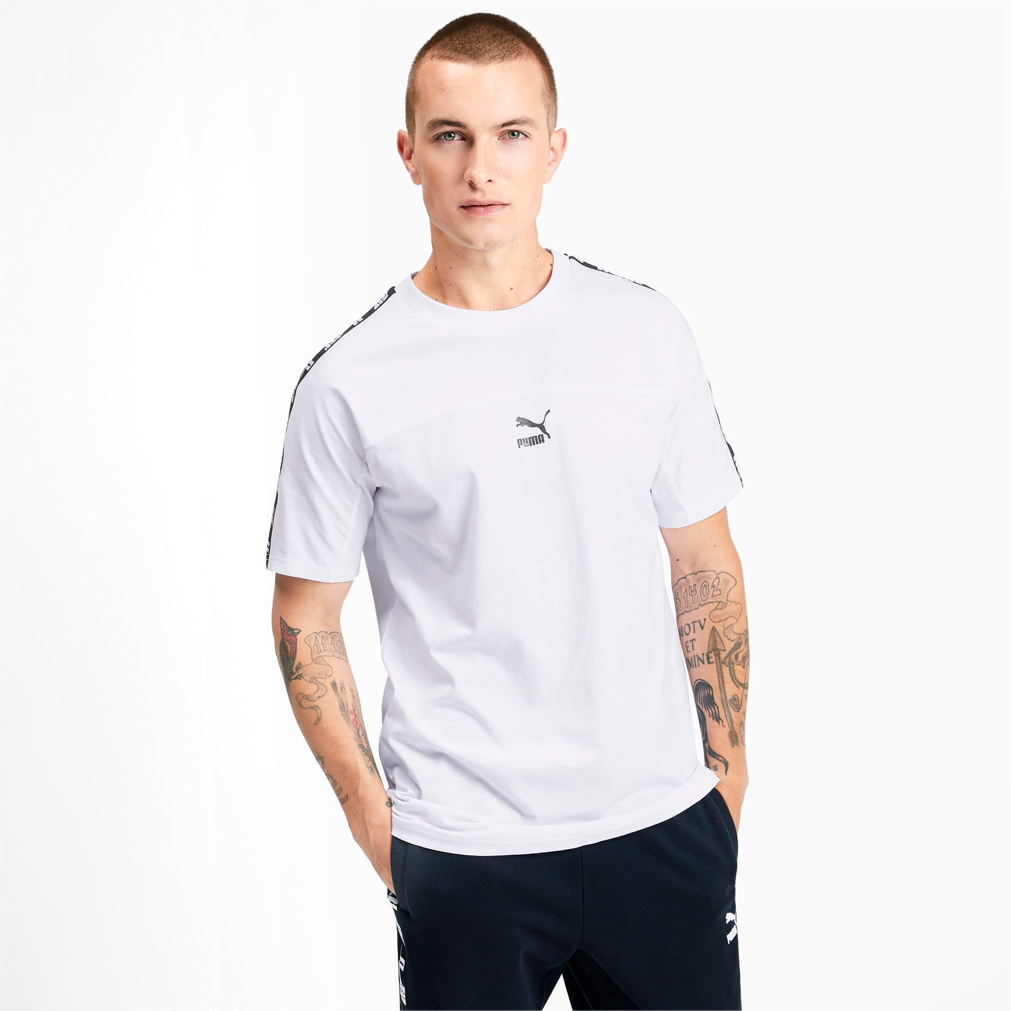 Thumbnail 1 of PUMA XTG Short Sleeve Men's Tee, Puma White, medium