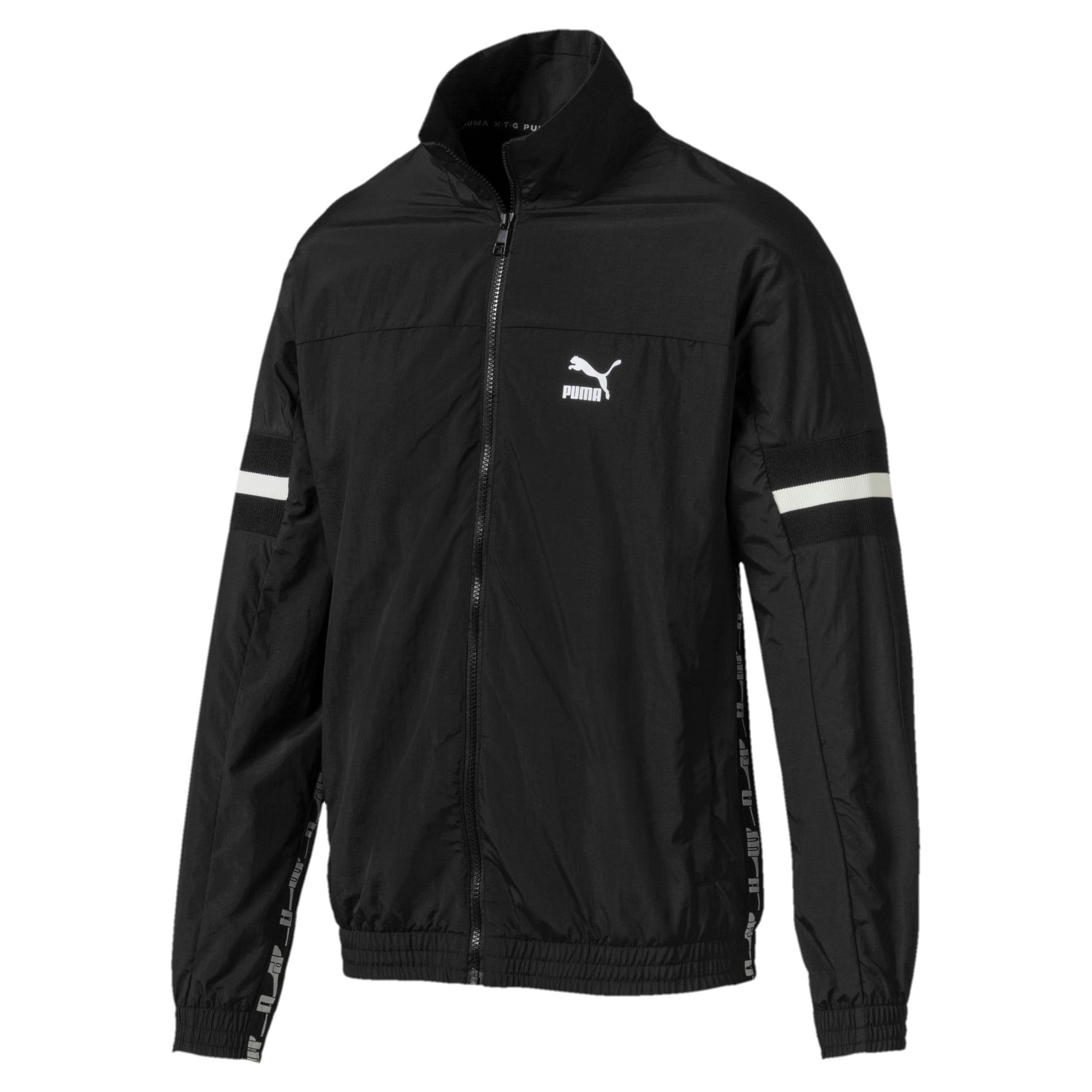 Thumbnail 4 of PUMA XTG Woven Men's Track Jacket, Puma Black, medium