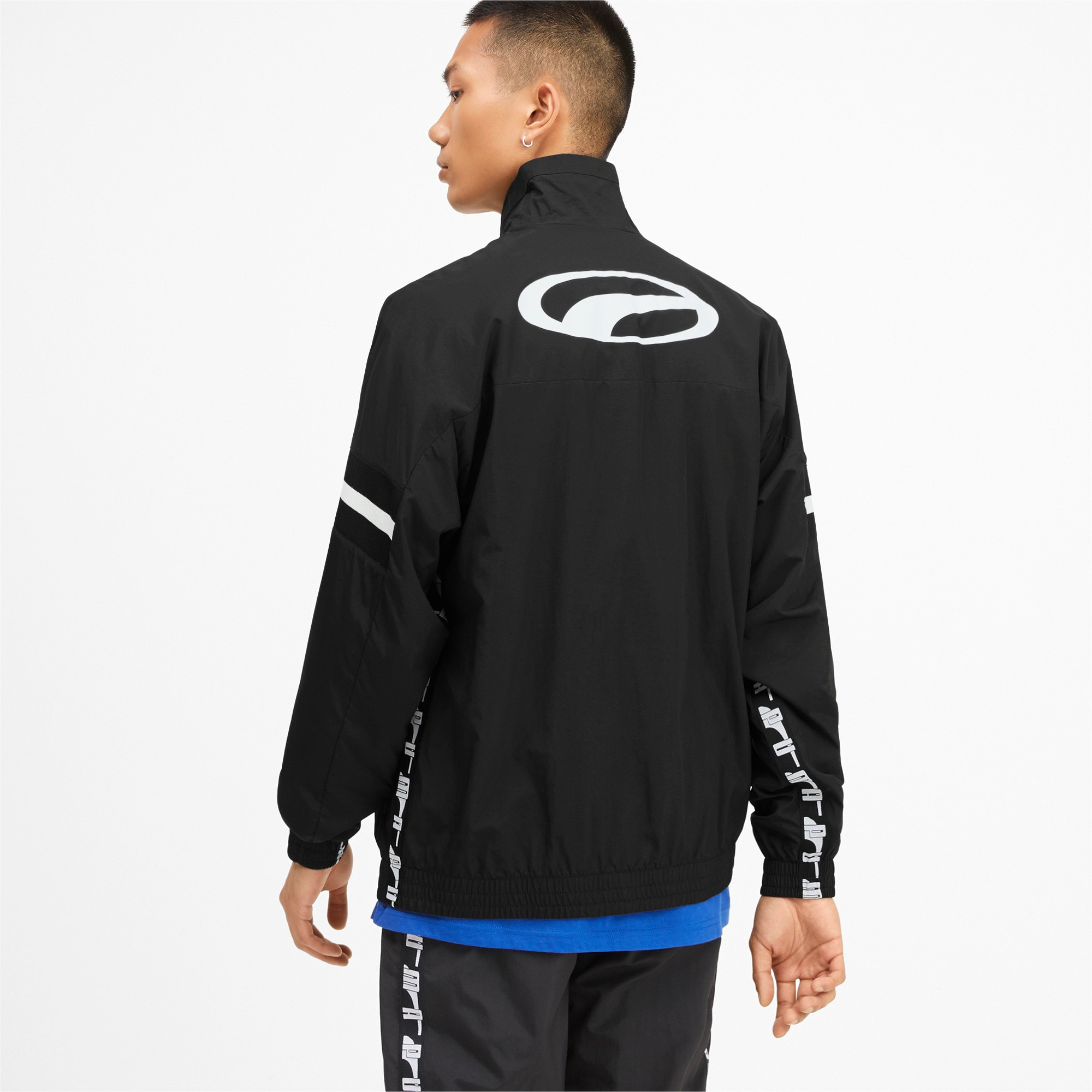 Thumbnail 2 of PUMA XTG Men's Woven Jacket, Puma Black, medium