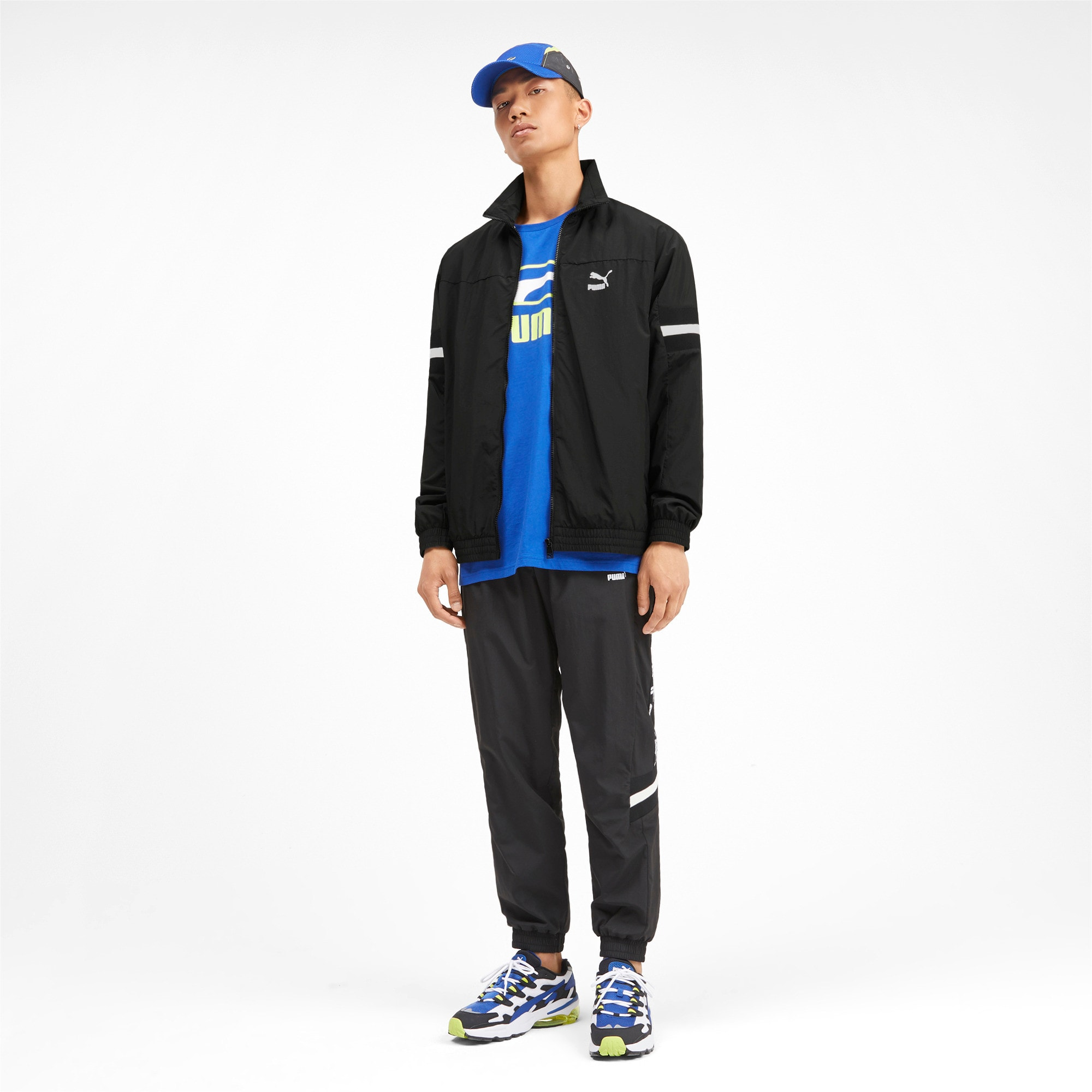 Thumbnail 3 of PUMA XTG Woven Men's Track Jacket, Puma Black, medium
