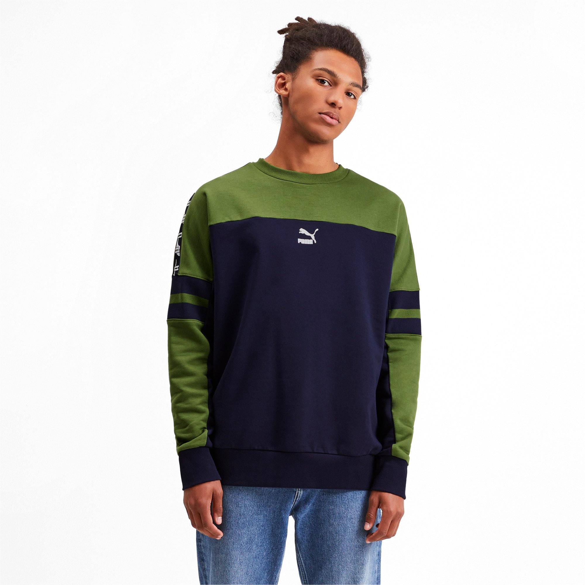 Thumbnail 1 of PUMA XTG Men's Crewneck Sweatshirt, Peacoat, medium