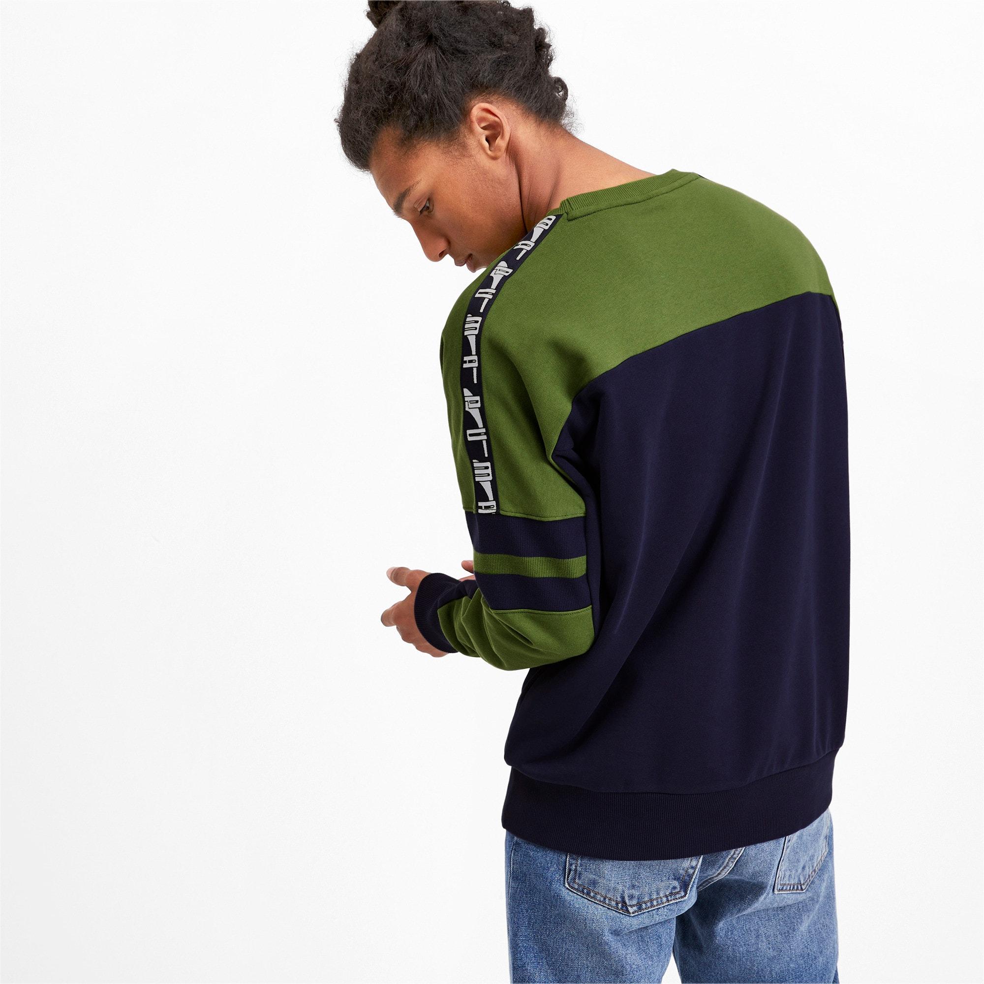 Thumbnail 2 of PUMA XTG Men's Crewneck Sweatshirt, Peacoat, medium