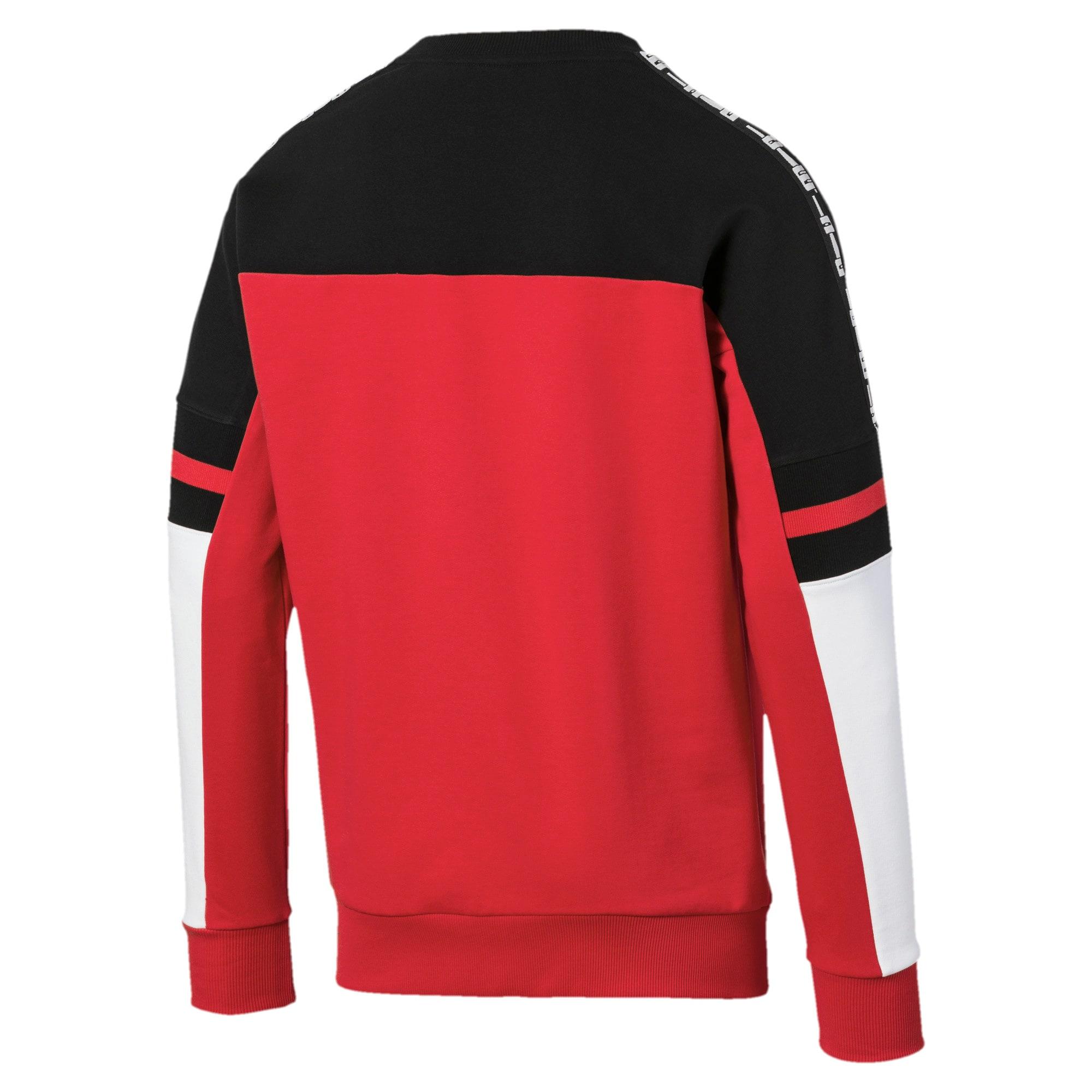 Thumbnail 5 of PUMA XTG Men's Crewneck Sweatshirt, High Risk Red, medium