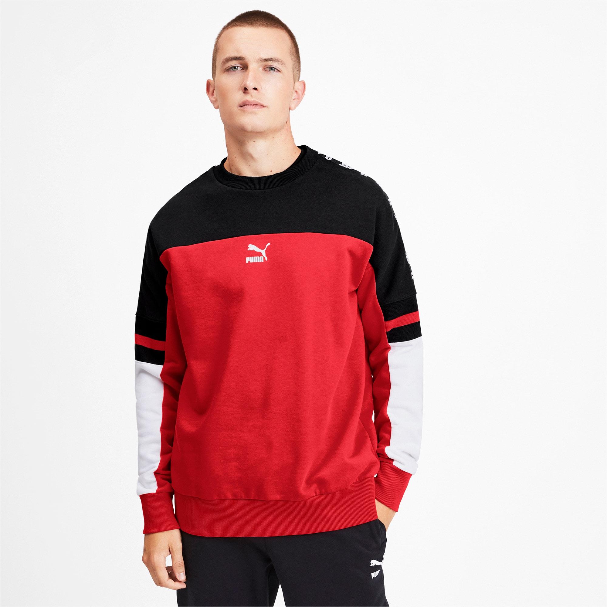 Thumbnail 1 of PUMA XTG Men's Crewneck Sweatshirt, High Risk Red, medium
