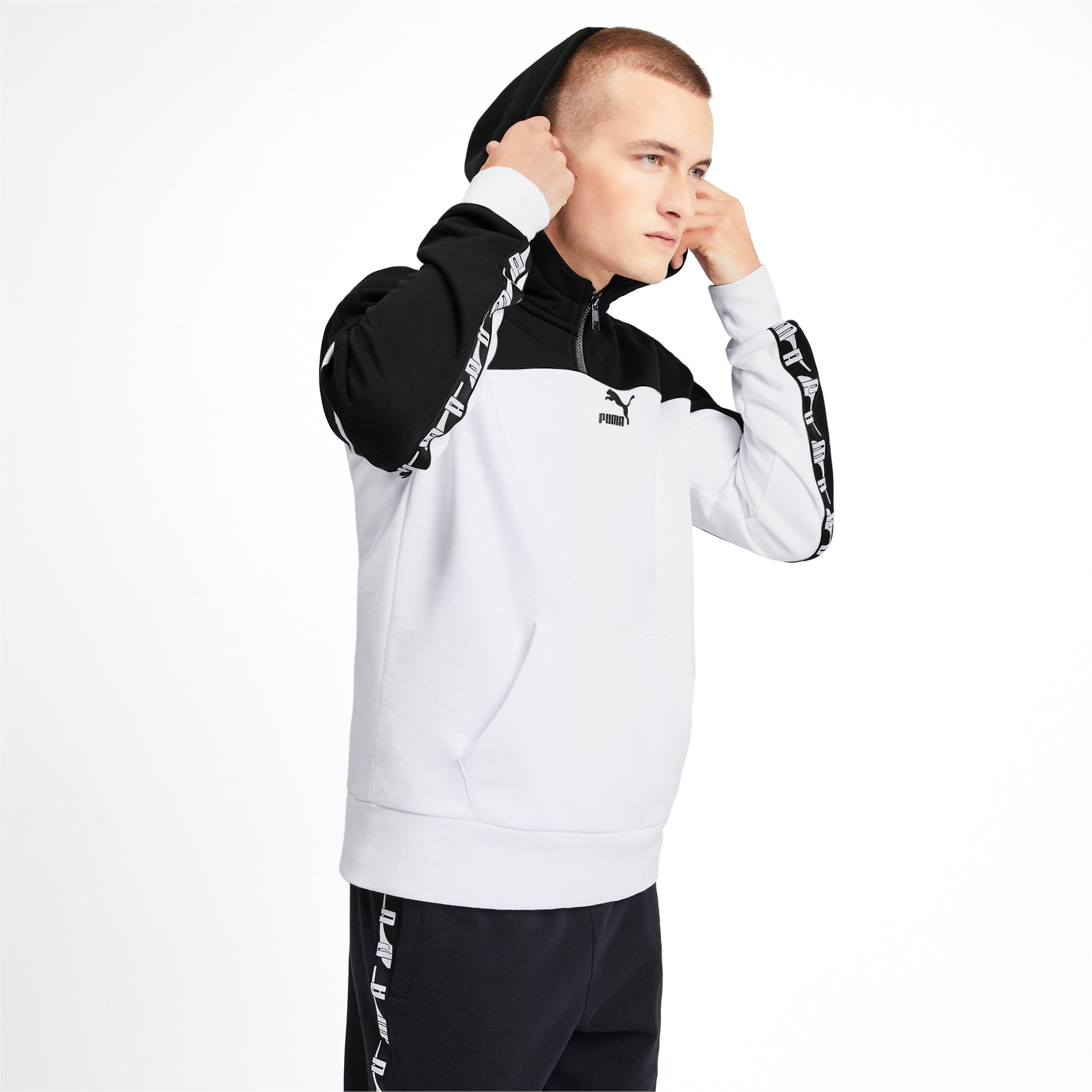 Thumbnail 2 of PUMA XTG PO Herren Hoodie, Puma White, medium