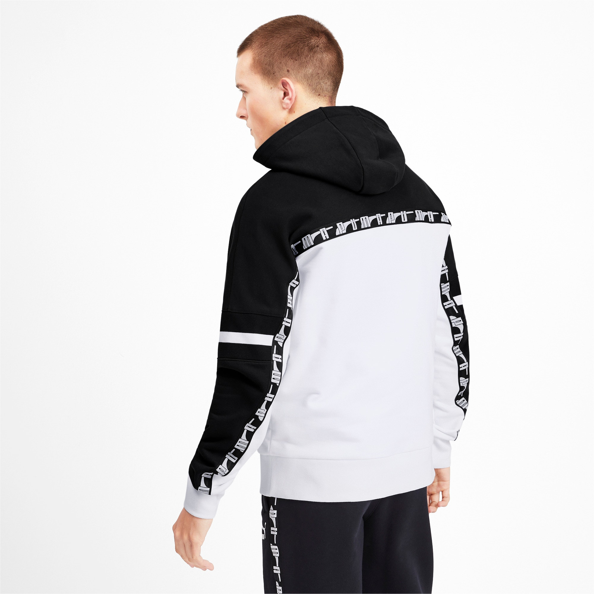 Thumbnail 3 of PUMA XTG PO Herren Hoodie, Puma White, medium
