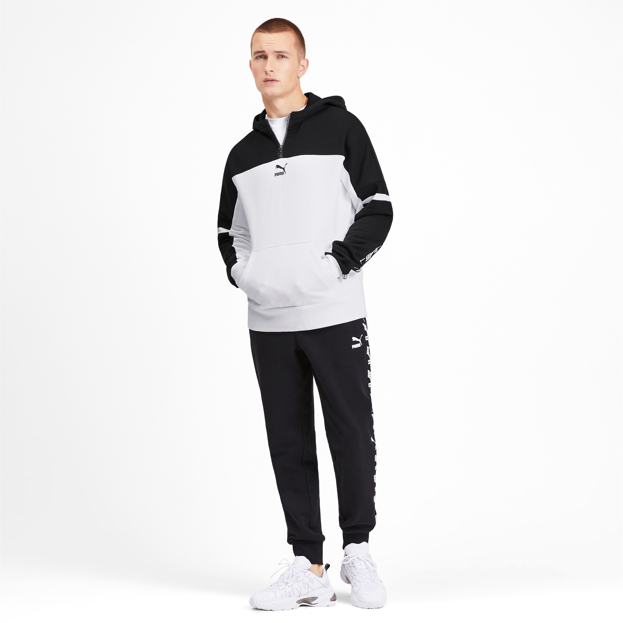 Thumbnail 4 of PUMA XTG PO Herren Hoodie, Puma White, medium