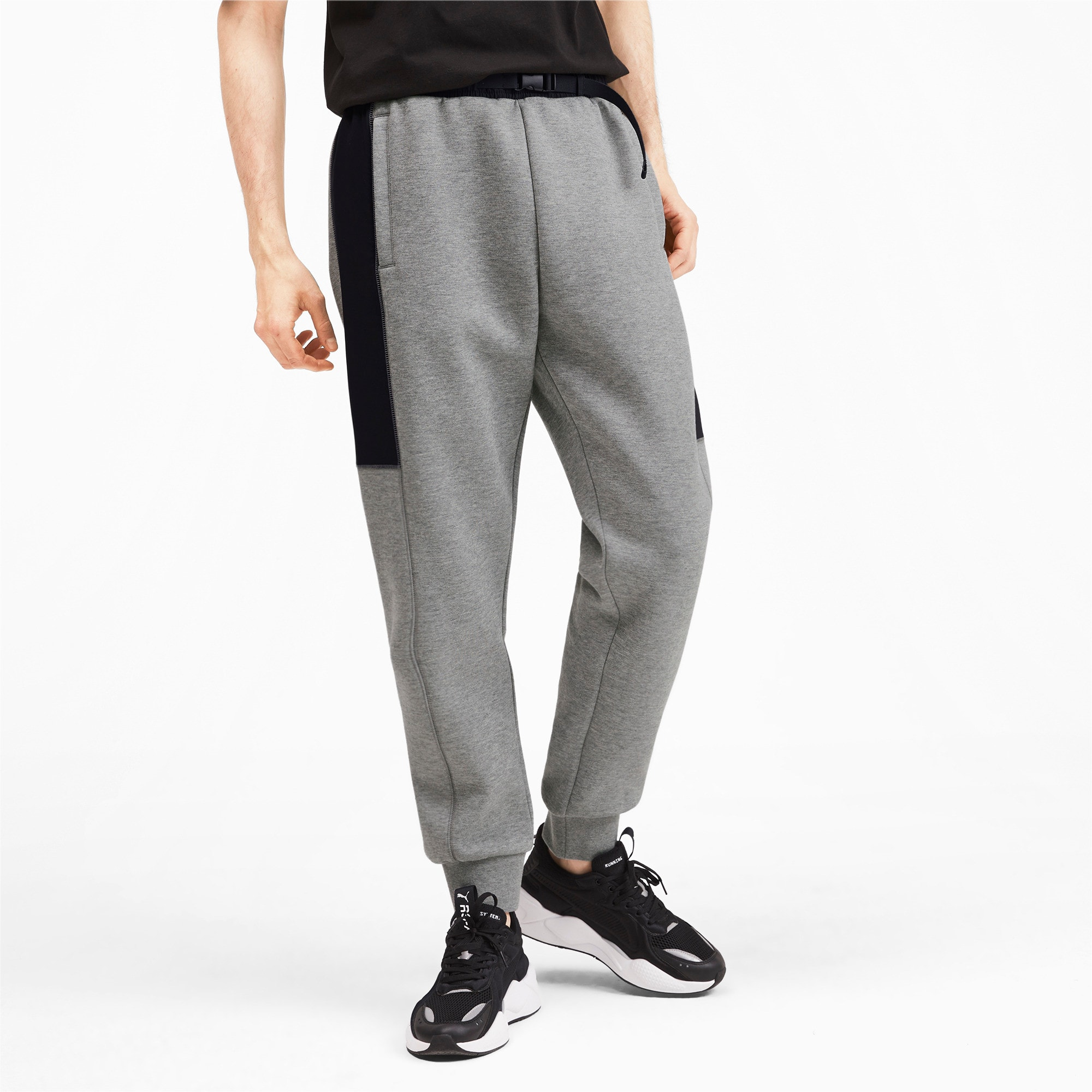 Thumbnail 2 of Epoch Hybrid Men's Sweatpants, Medium Gray Heather, medium