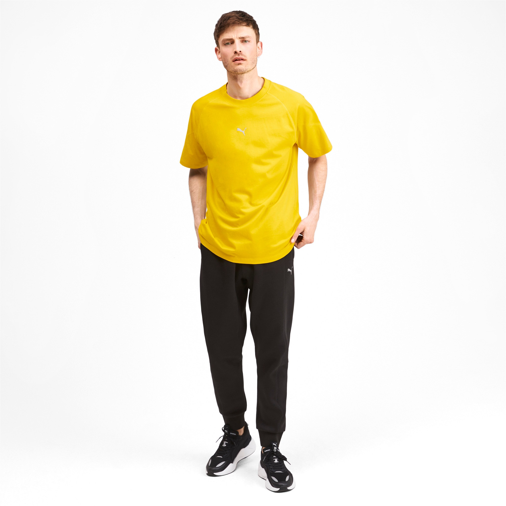 Thumbnail 4 of T-Shirt Epoch pour homme, Sulphur, medium