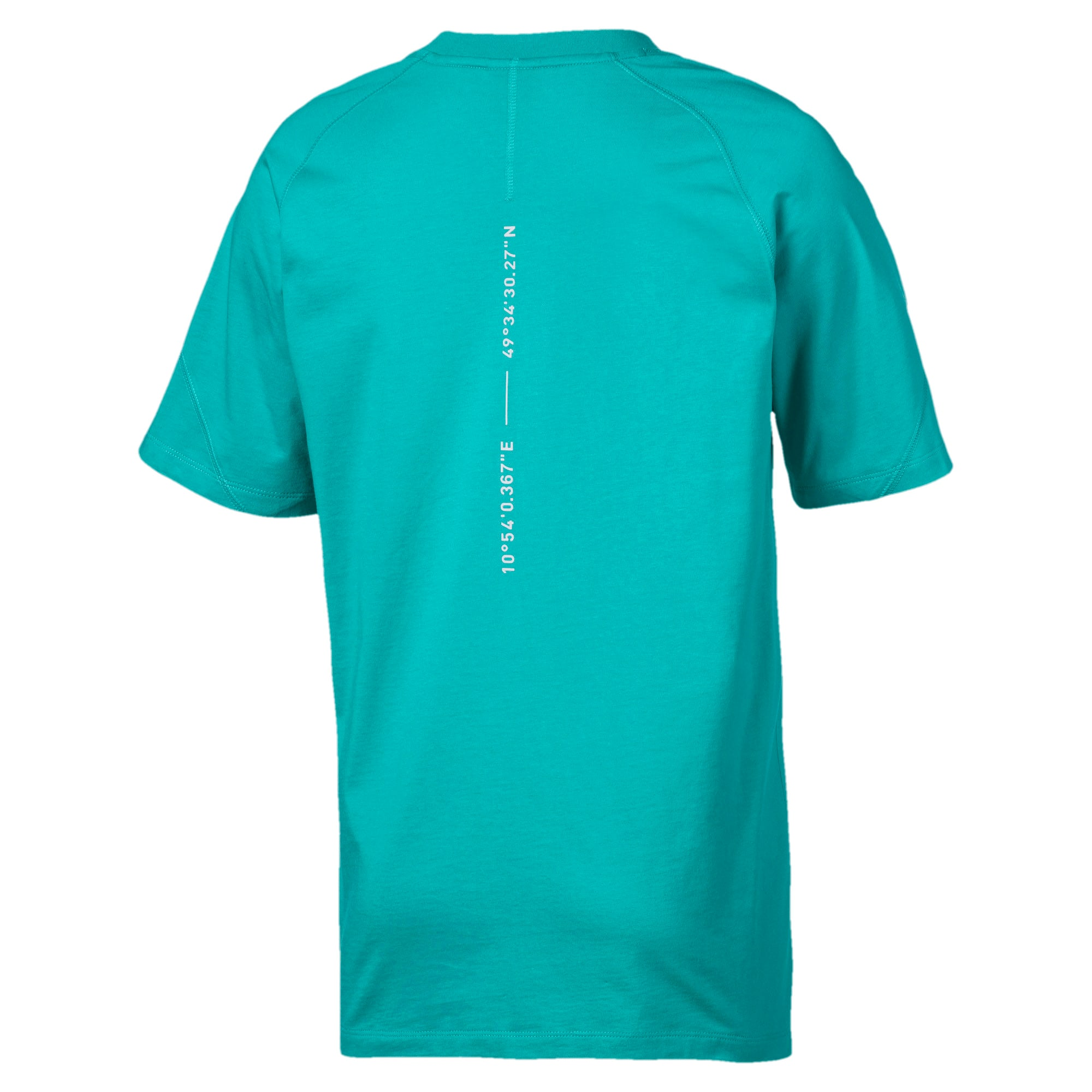 Thumbnail 5 of Epoch Men's Tee, Blue Turquoise, medium