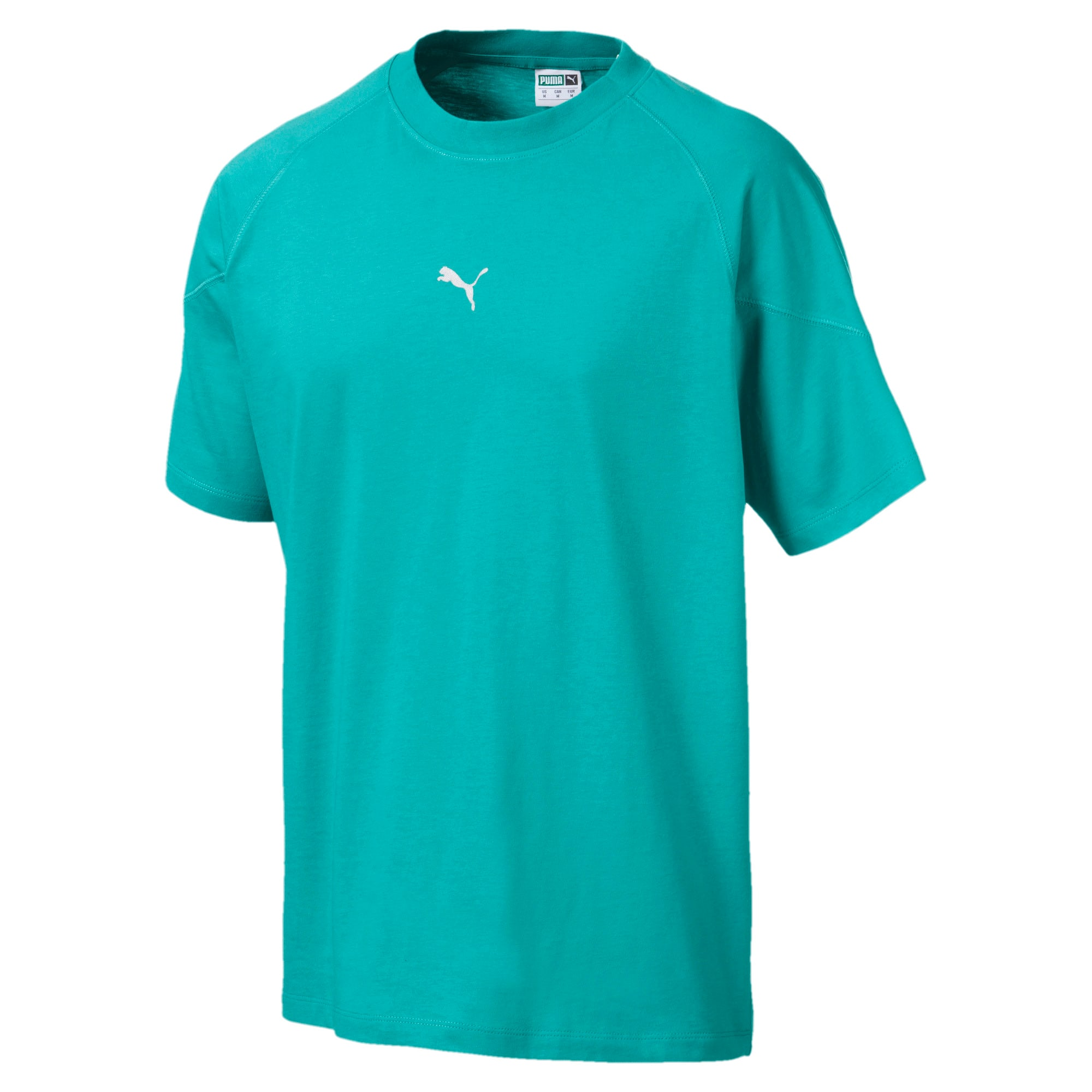 Thumbnail 1 of Epoch Men's Tee, Blue Turquoise, medium