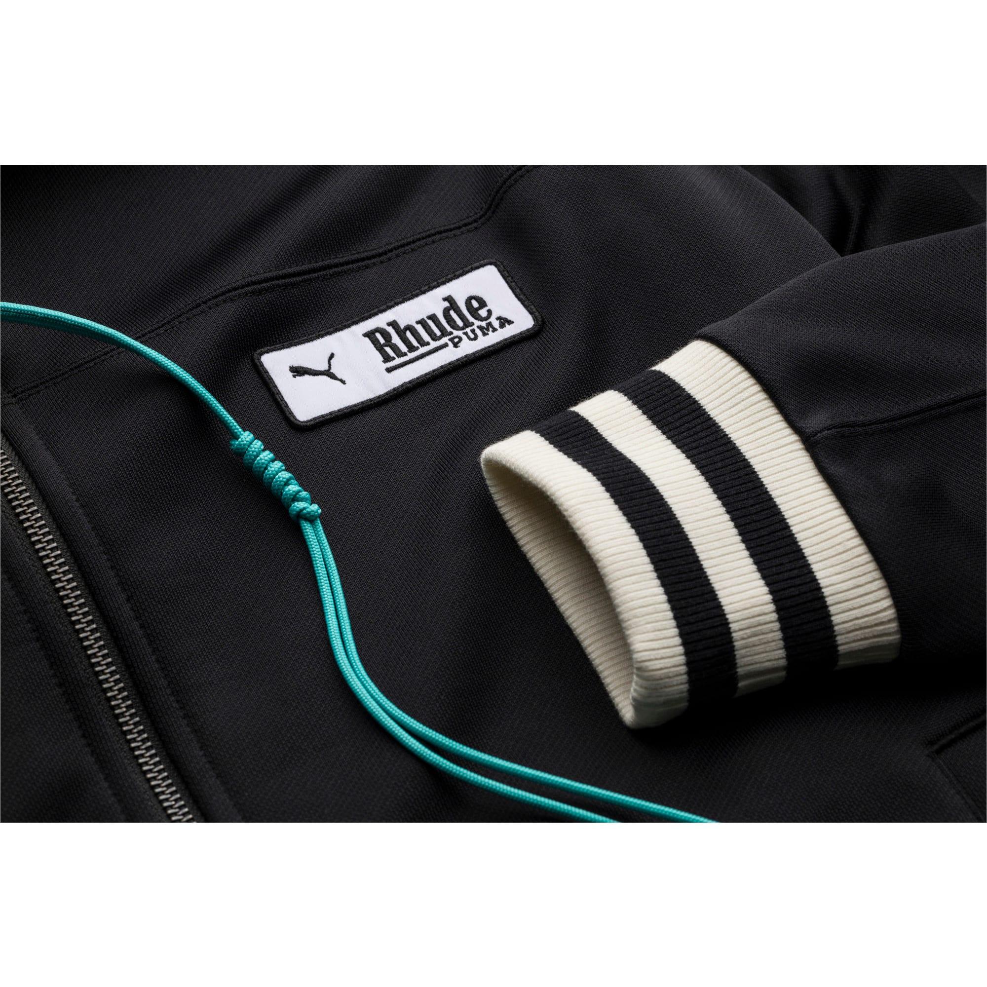Thumbnail 3 of PUMA x RHUDE XTG Men's Track Jacket, Puma Black, medium