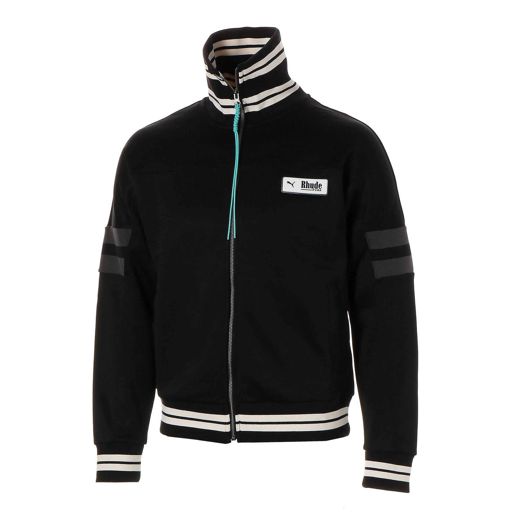 Thumbnail 1 of PUMA x RHUDE XTG Men's Track Jacket, Puma Black, medium