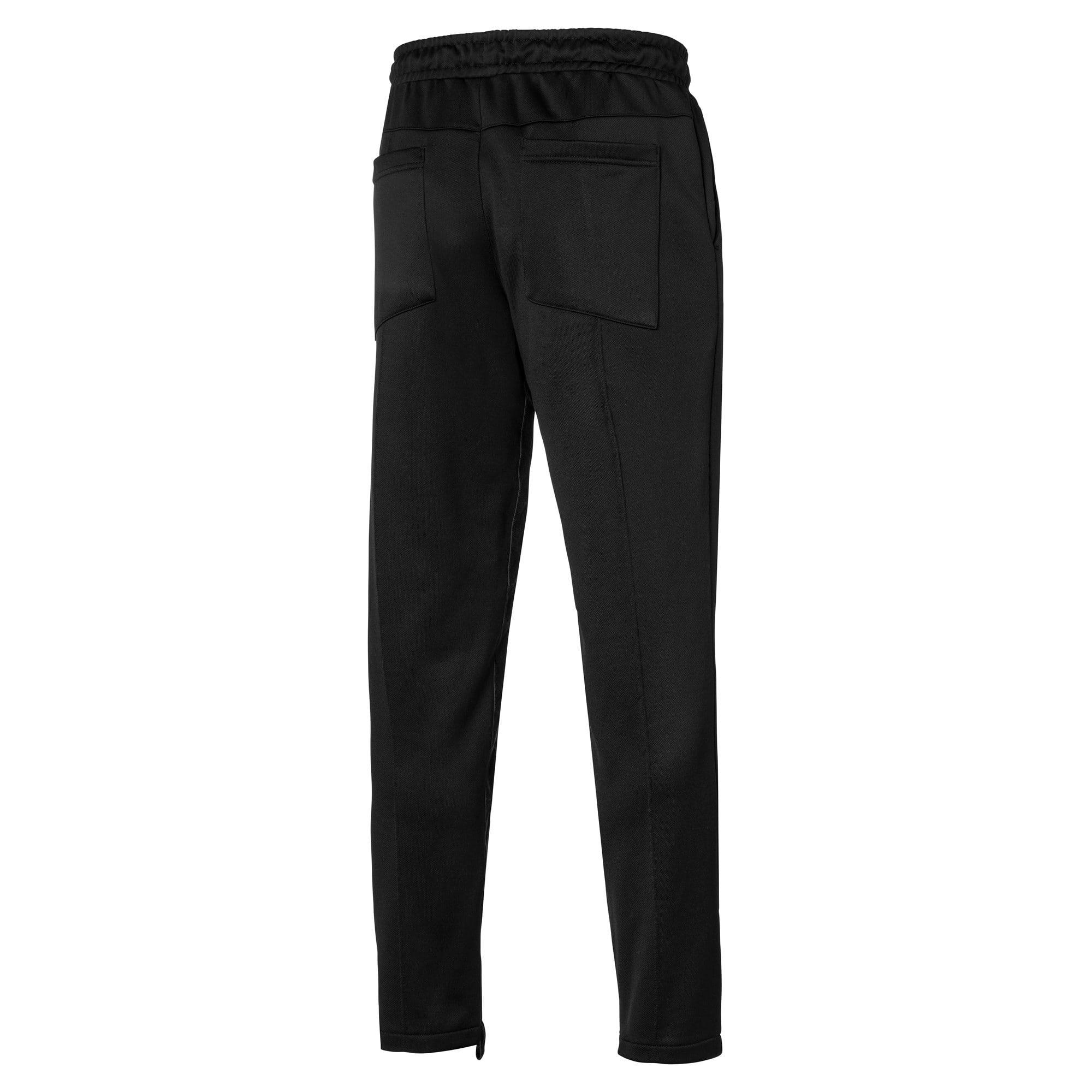 Anteprima 2 di PUMA x RHUDE Knitted Men's Track Pants, Puma Black, medio