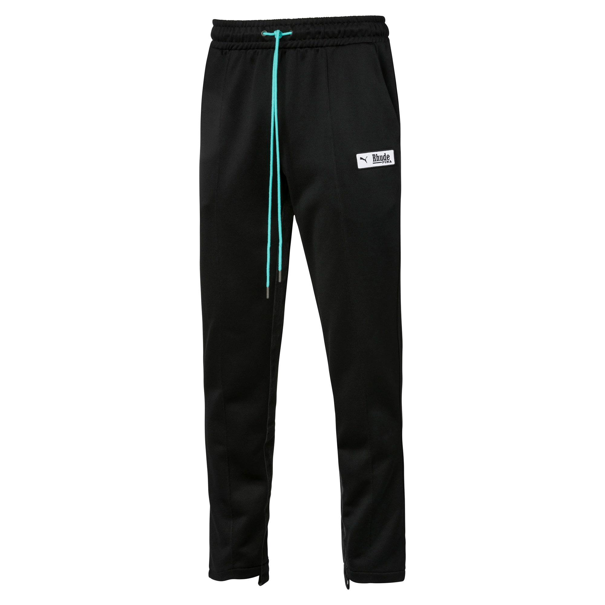 Anteprima 1 di PUMA x RHUDE Knitted Men's Track Pants, Puma Black, medio