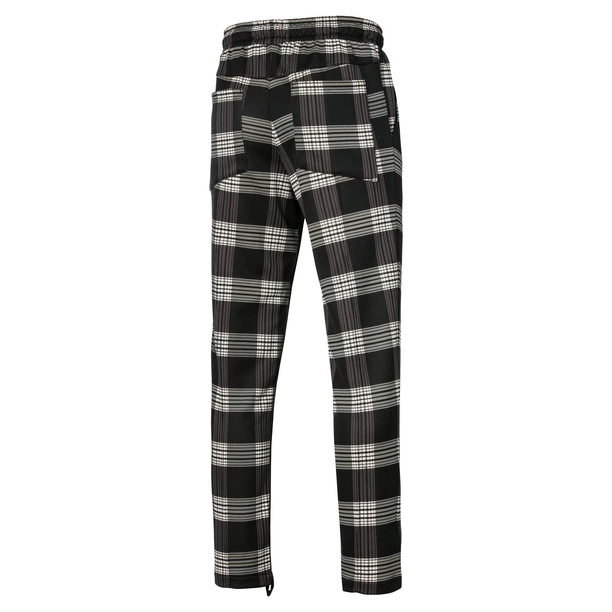 Anteprima 2 di PUMA x RHUDE All-Over Print Knitted Men's Track Pants, Puma White AOP, medio