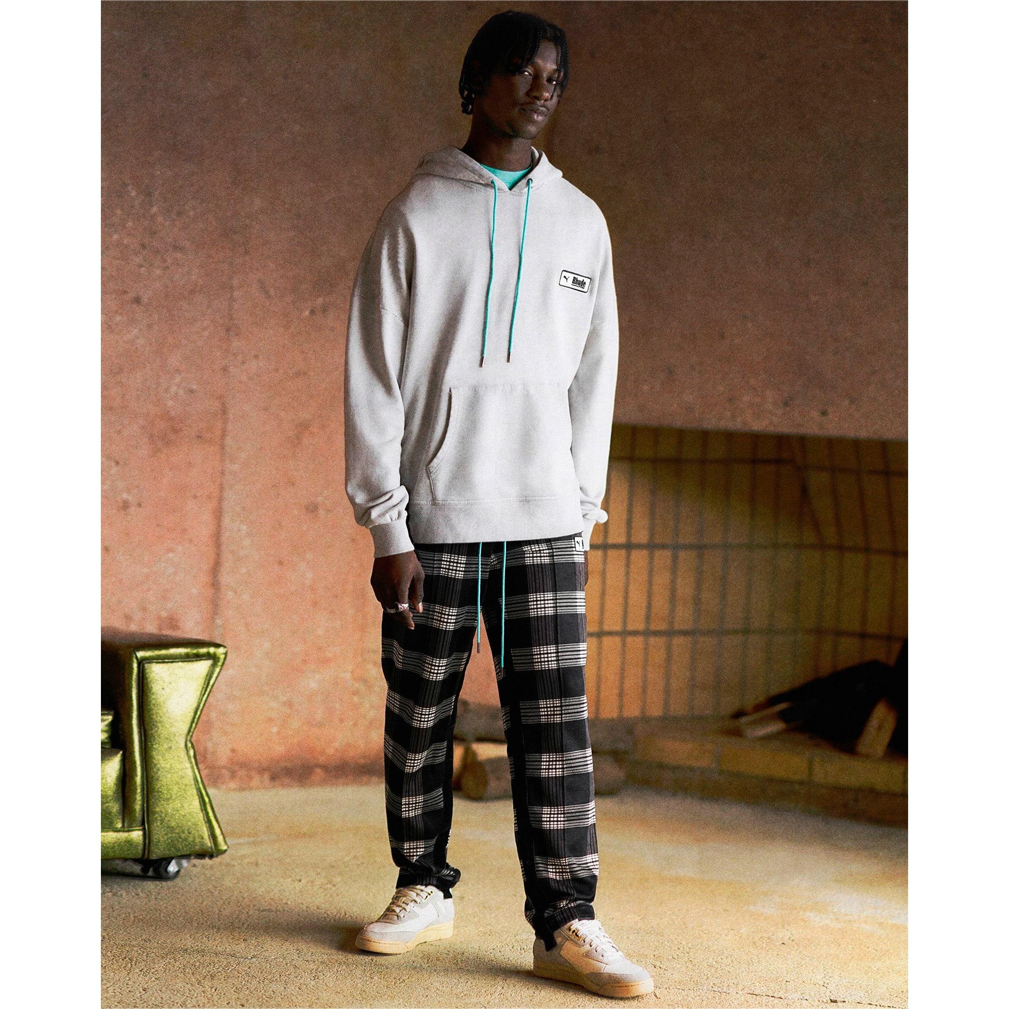 Anteprima 3 di PUMA x RHUDE All-Over Print Knitted Men's Track Pants, Puma White AOP, medio