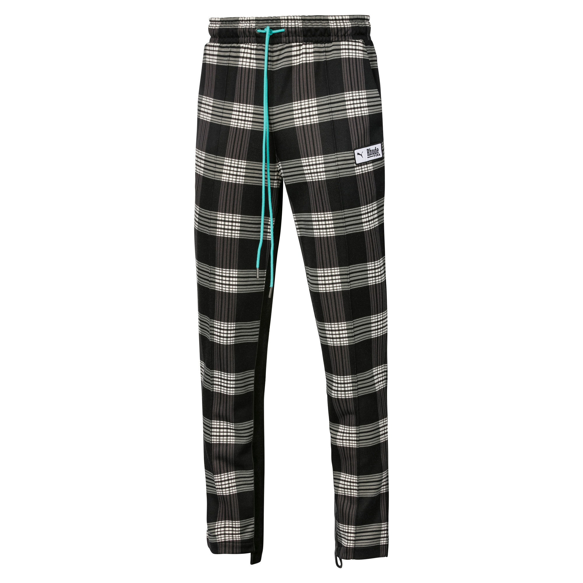 Anteprima 1 di PUMA x RHUDE All-Over Print Knitted Men's Track Pants, Puma White AOP, medio