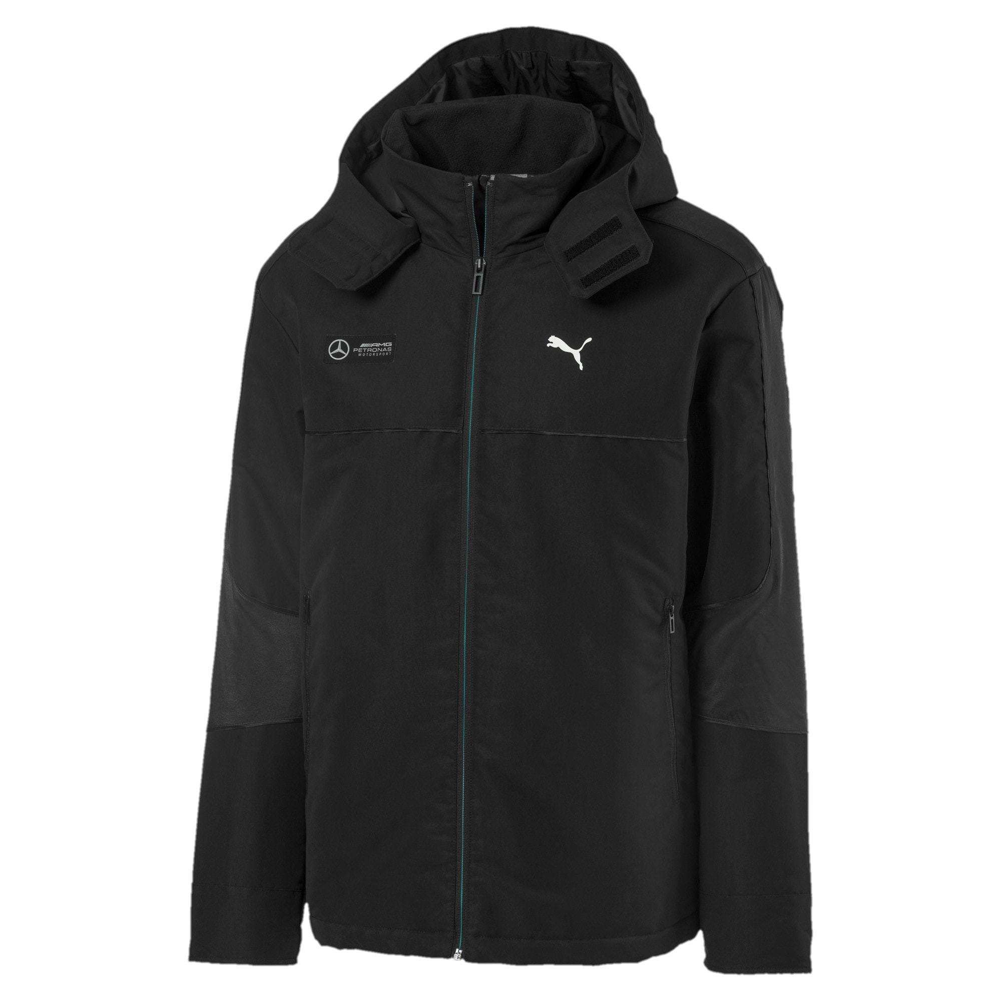 Thumbnail 1 of Mercedes RCT Men's Jacket, Puma Black, medium