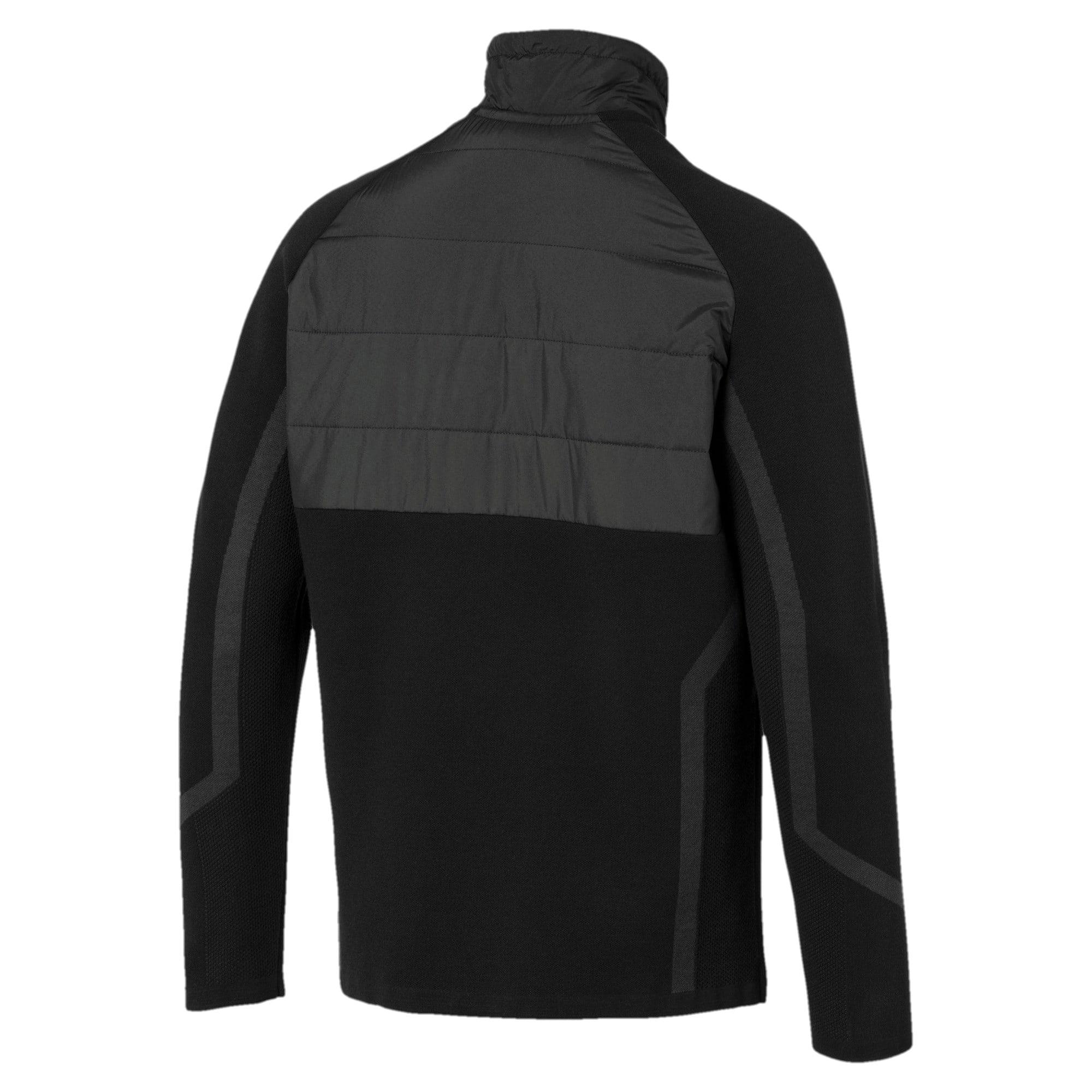 Thumbnail 2 of Mercedes AMG Petronas RCT evoKNIT Knitted Men's Sweater, Puma Black, medium-IND