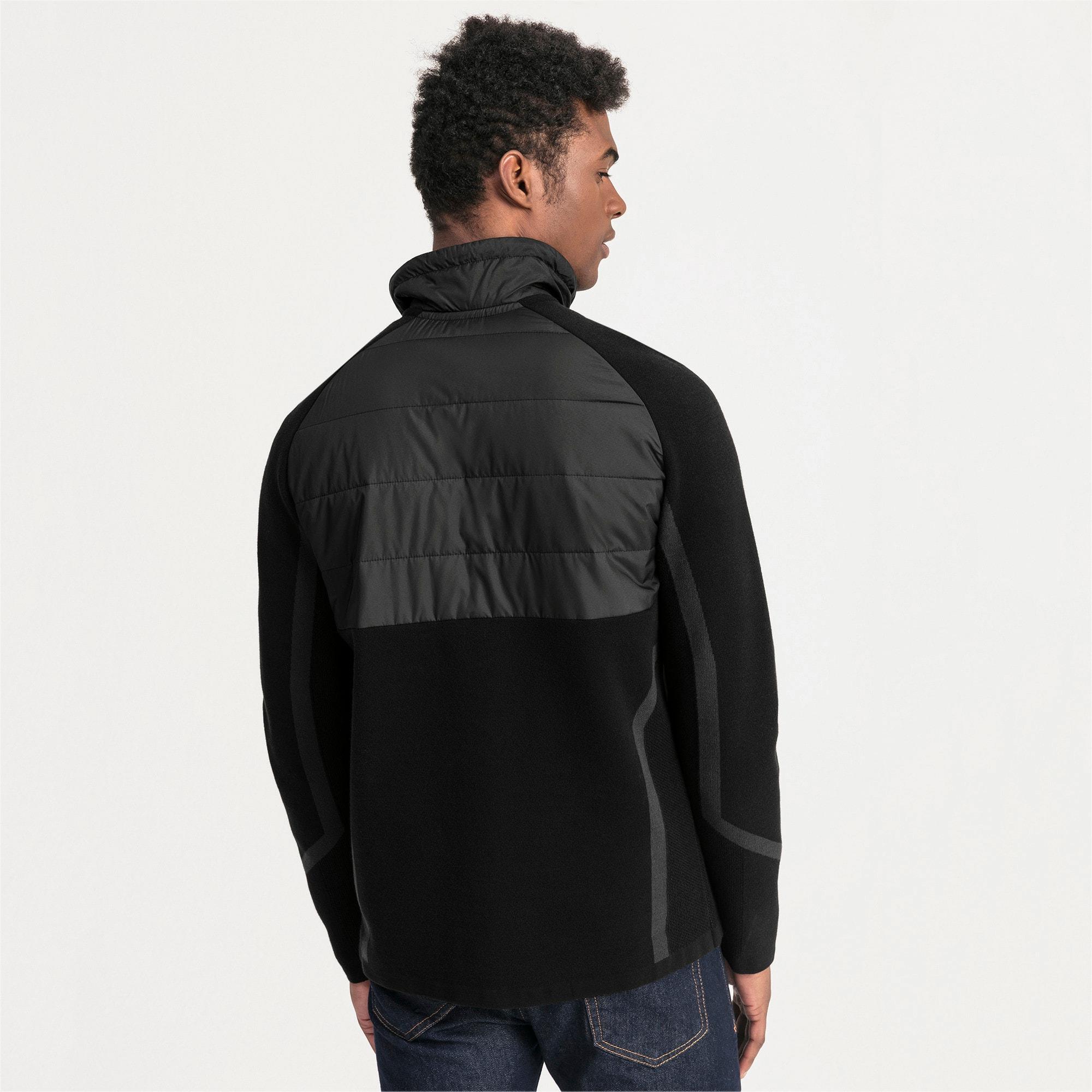 Thumbnail 2 of Mercedes AMG Petronas RCT evoKNIT Knitted Men's Sweater, Puma Black, medium