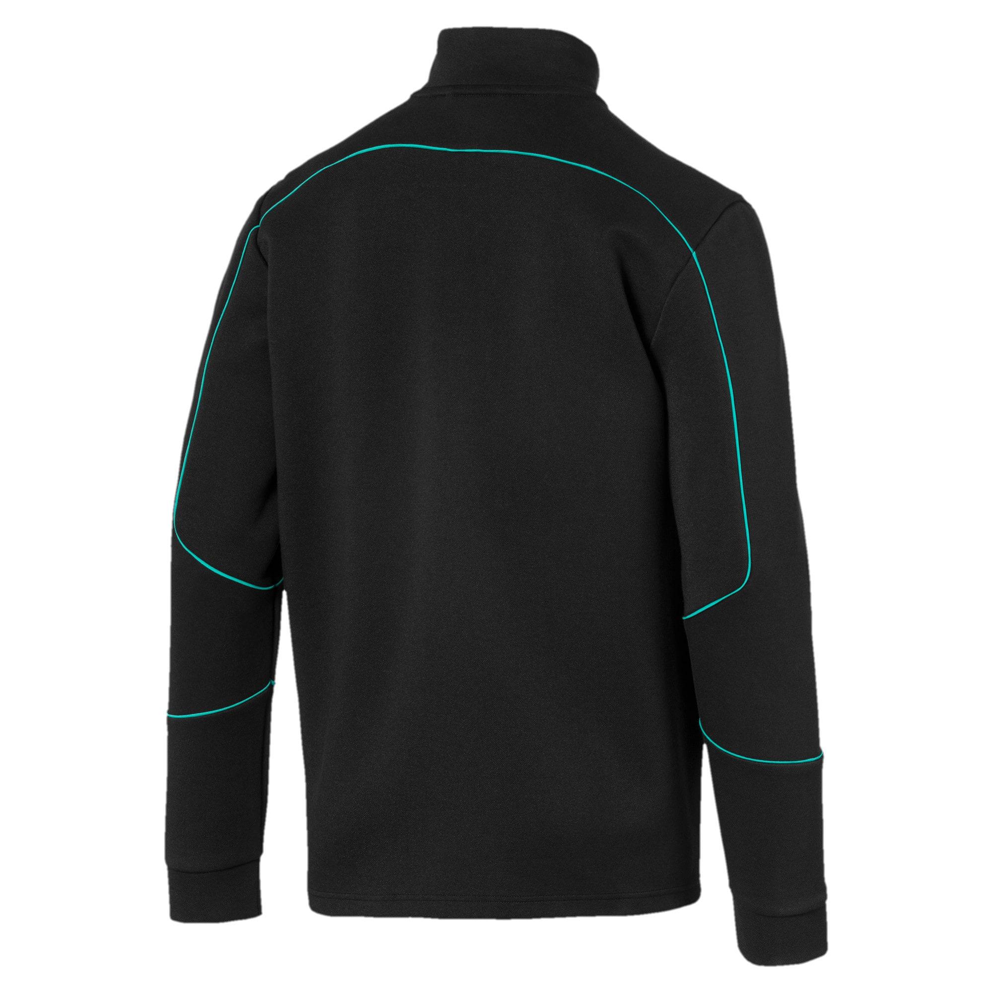 Thumbnail 5 of Mercedes AMG Petronas Men's Sweat Jacket, Puma Black, medium