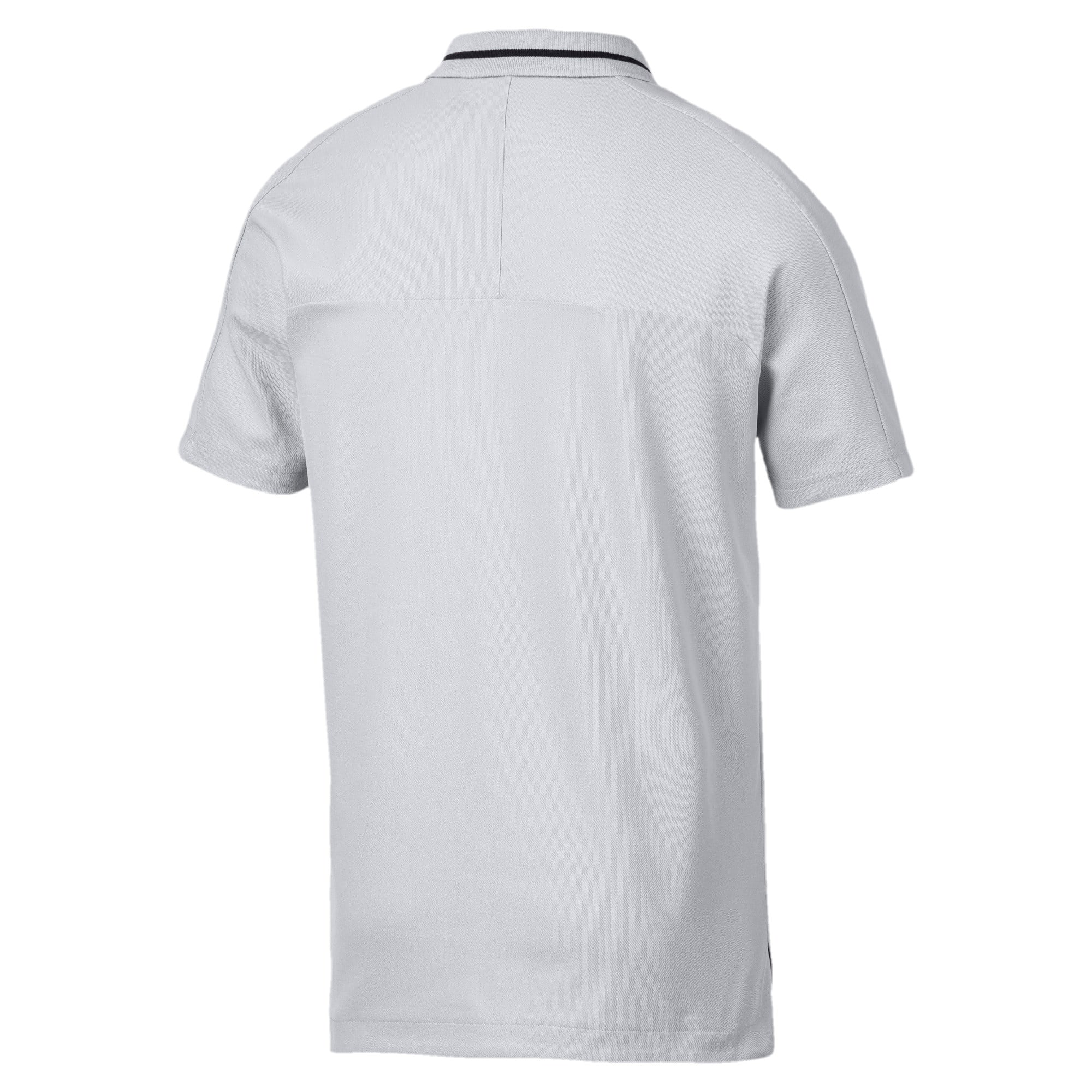 Miniatura 2 de Camiseta tipo polo Mercedes AMG Petronaspara hombre, Mercedes Team Silver, mediano