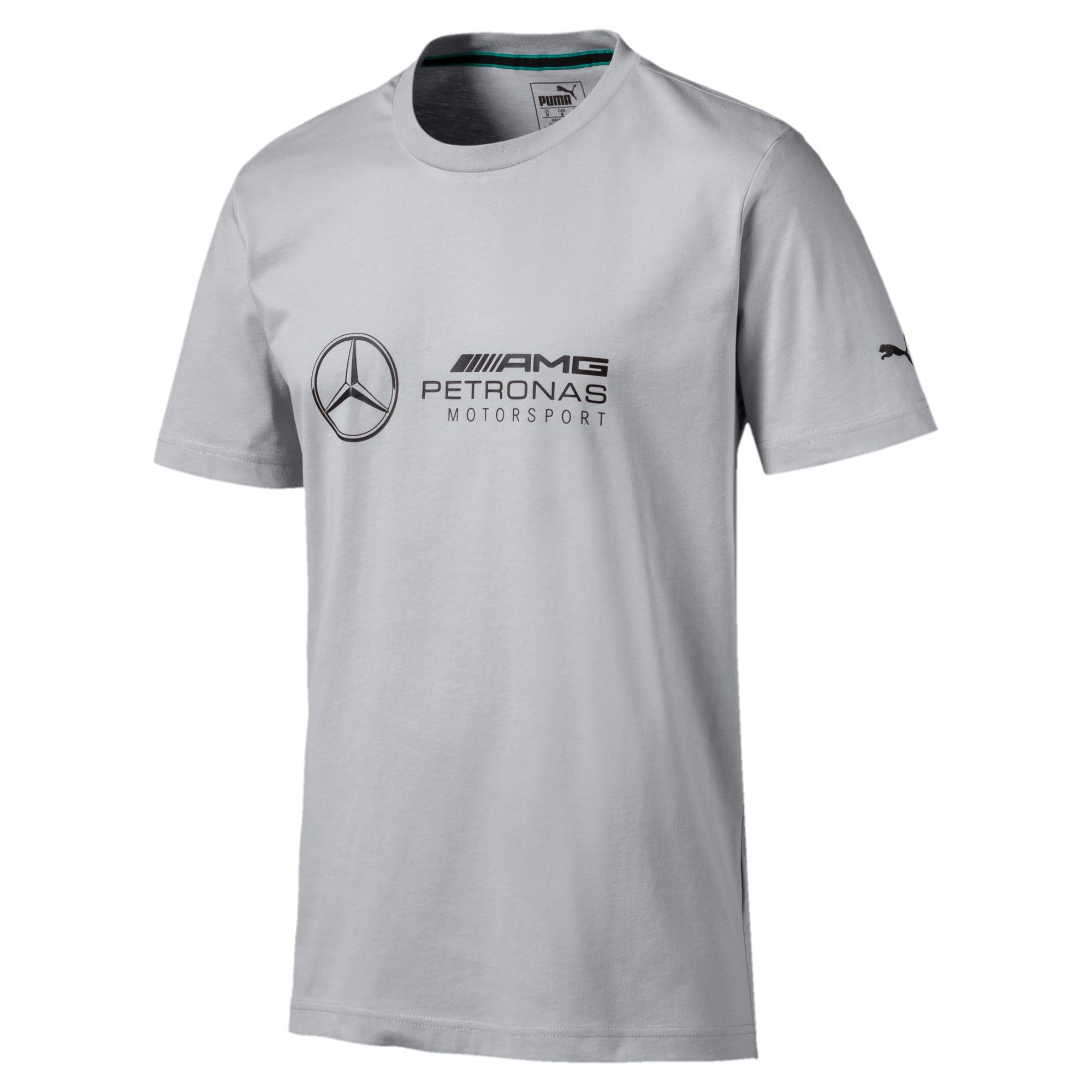 Miniatura 1 de Camiseta con logo Mercedes AMG Petronas para hombre, Mercedes Team Silver, mediano
