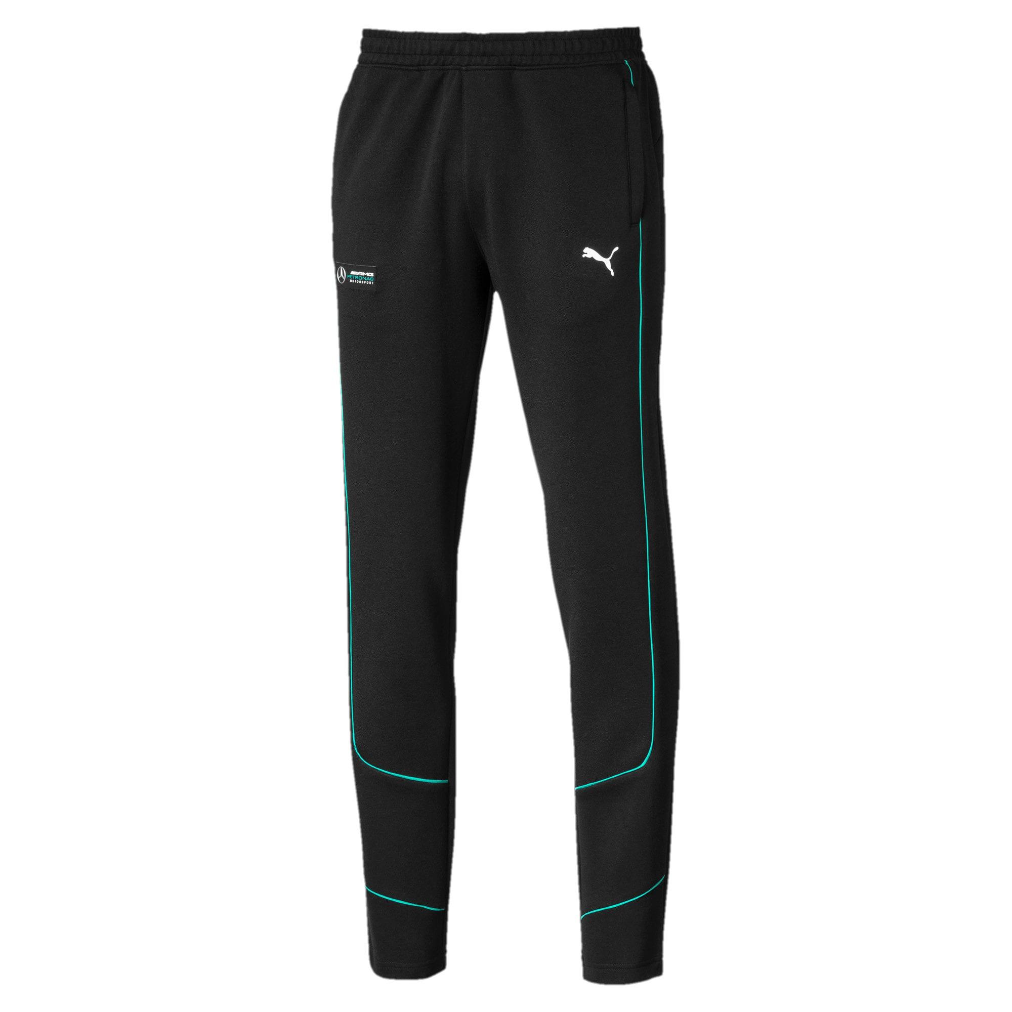 Miniatura 1 de Pantalones deportivos Mercedes AMG Petronas para hombre, Puma Black, mediano