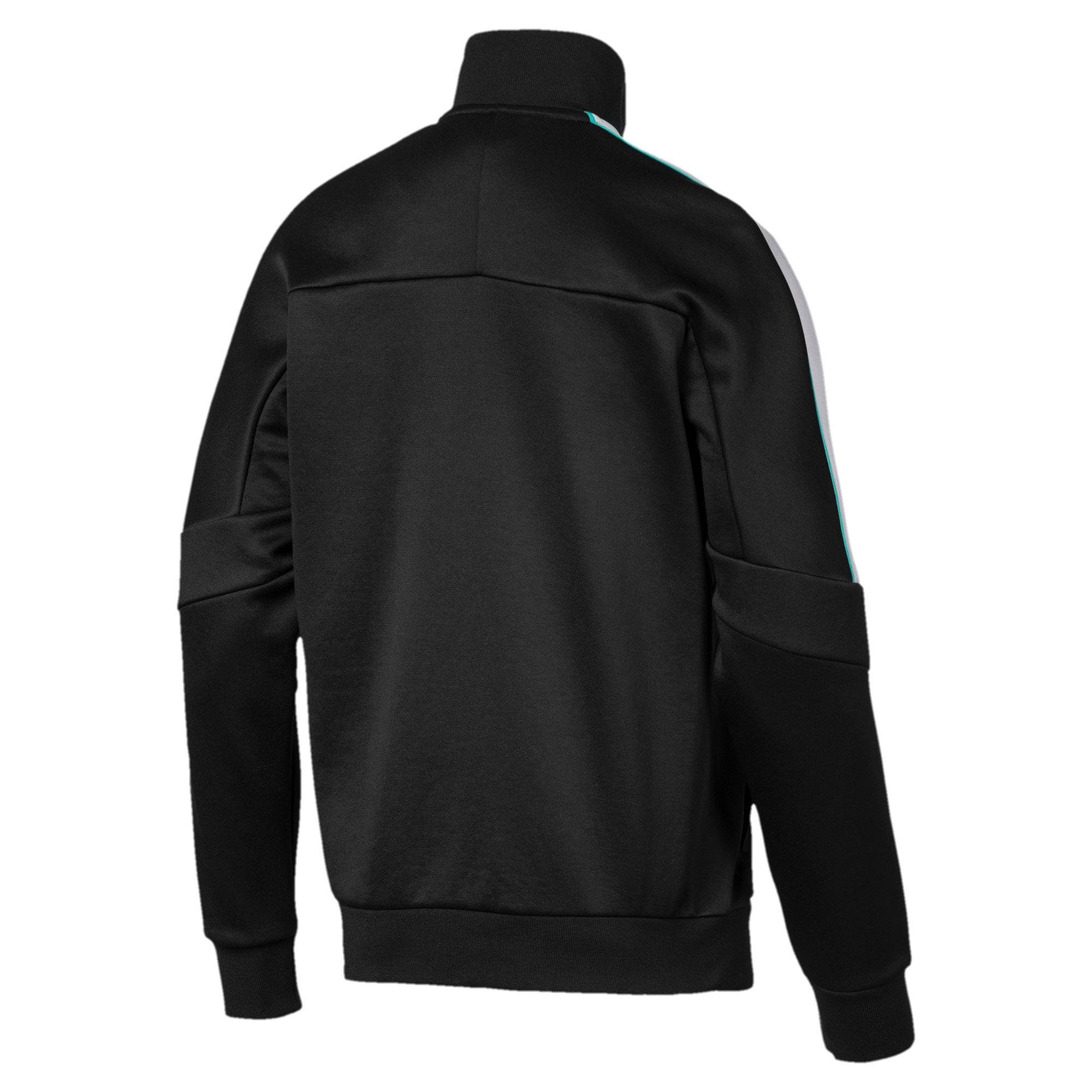 Thumbnail 6 of MAPM T7 Men's Track Jacket, Puma Black, medium
