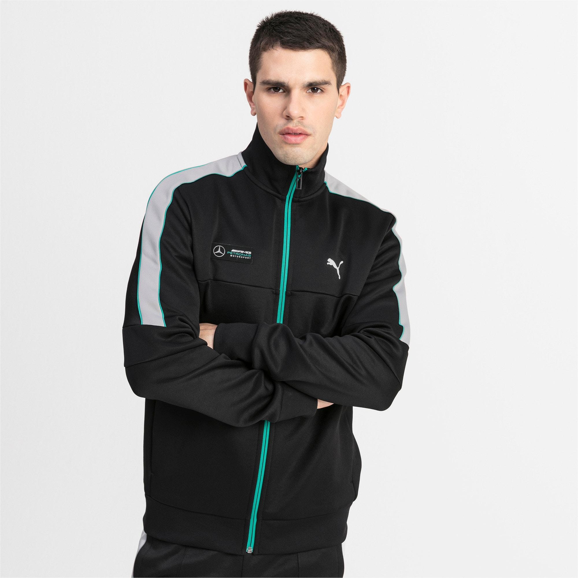 Thumbnail 1 of MAPM T7 Men's Track Jacket, Puma Black, medium
