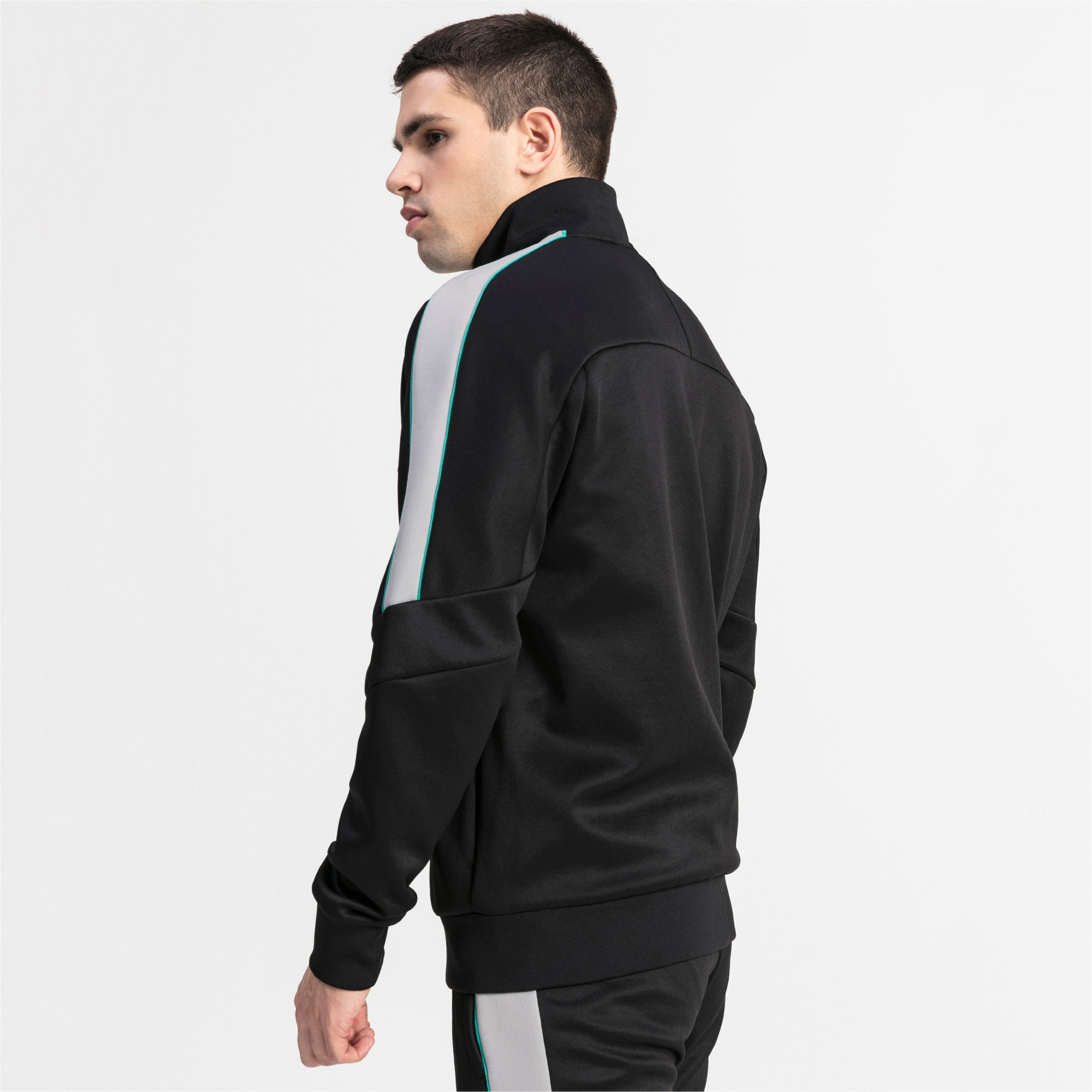 Thumbnail 2 of MAPM T7 Men's Track Jacket, Puma Black, medium
