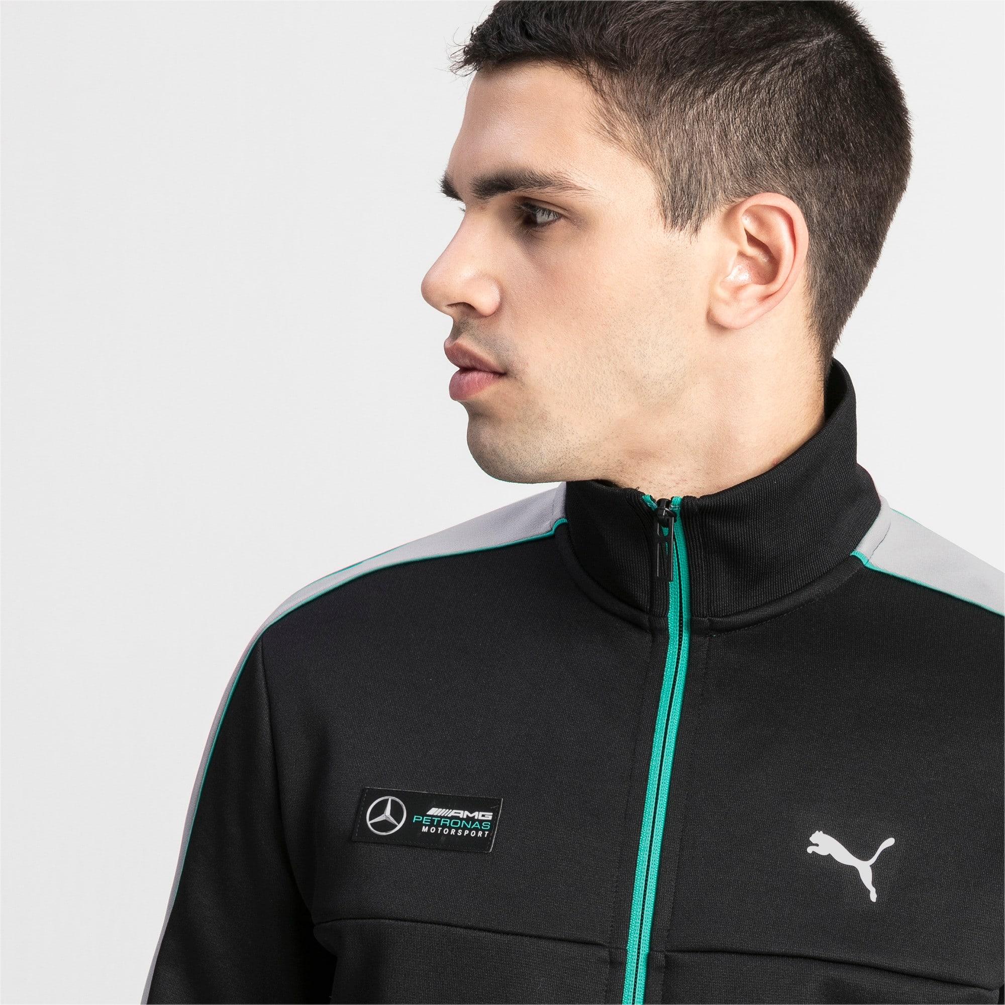 Thumbnail 4 of MAPM T7 Men's Track Jacket, Puma Black, medium