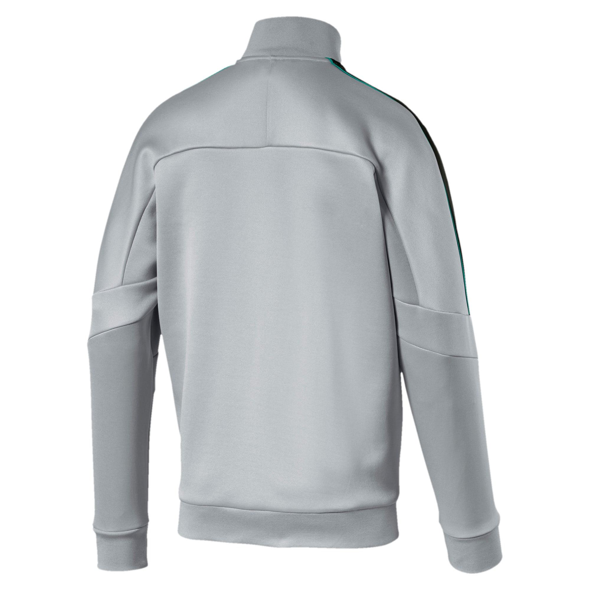 Thumbnail 2 of Mercedes AMG Petronas Men's T7 Track Jacket, Mercedes Team Silver, medium