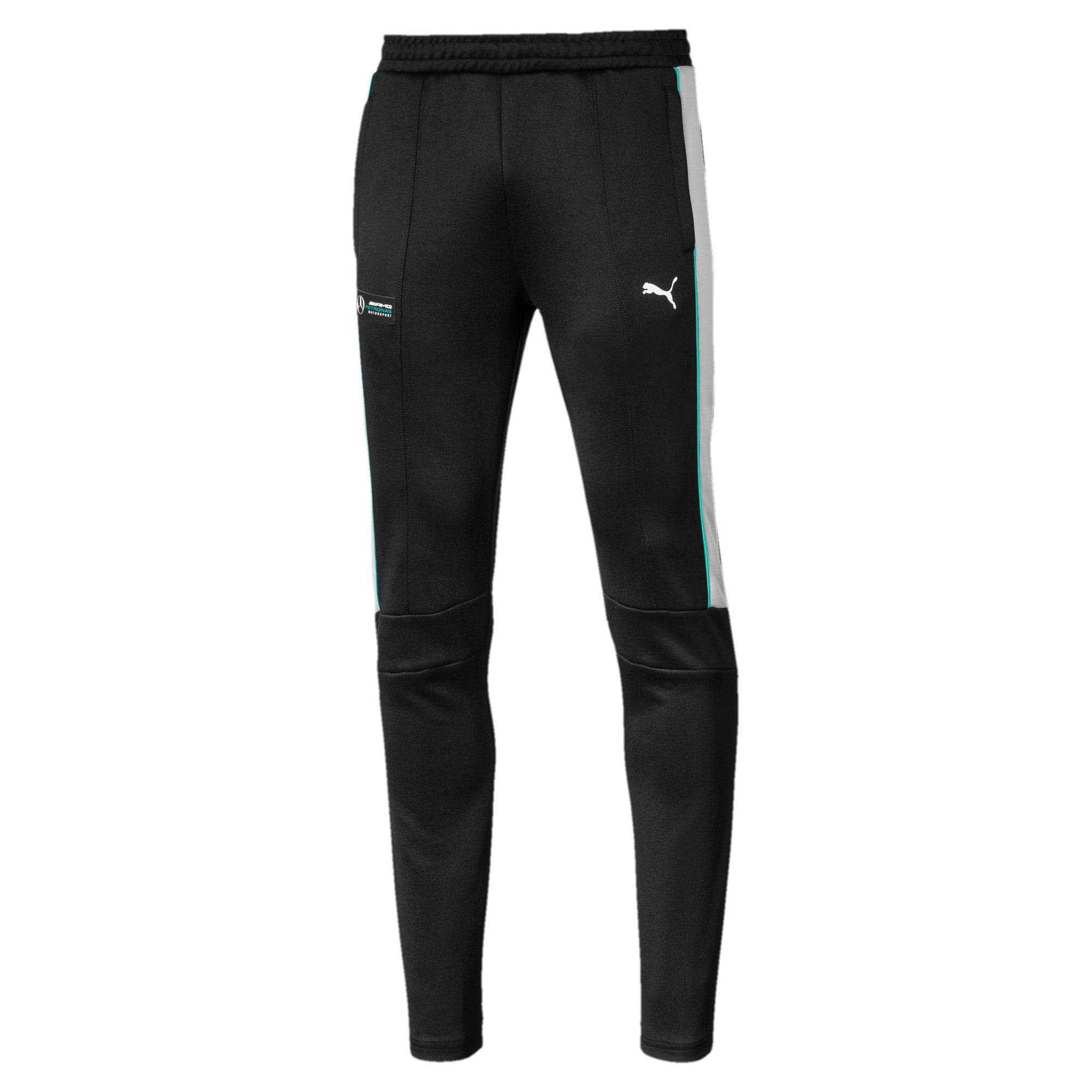 Thumbnail 1 of Mercedes AMG Petronas Men's T7 Track Pants, Puma Black, medium
