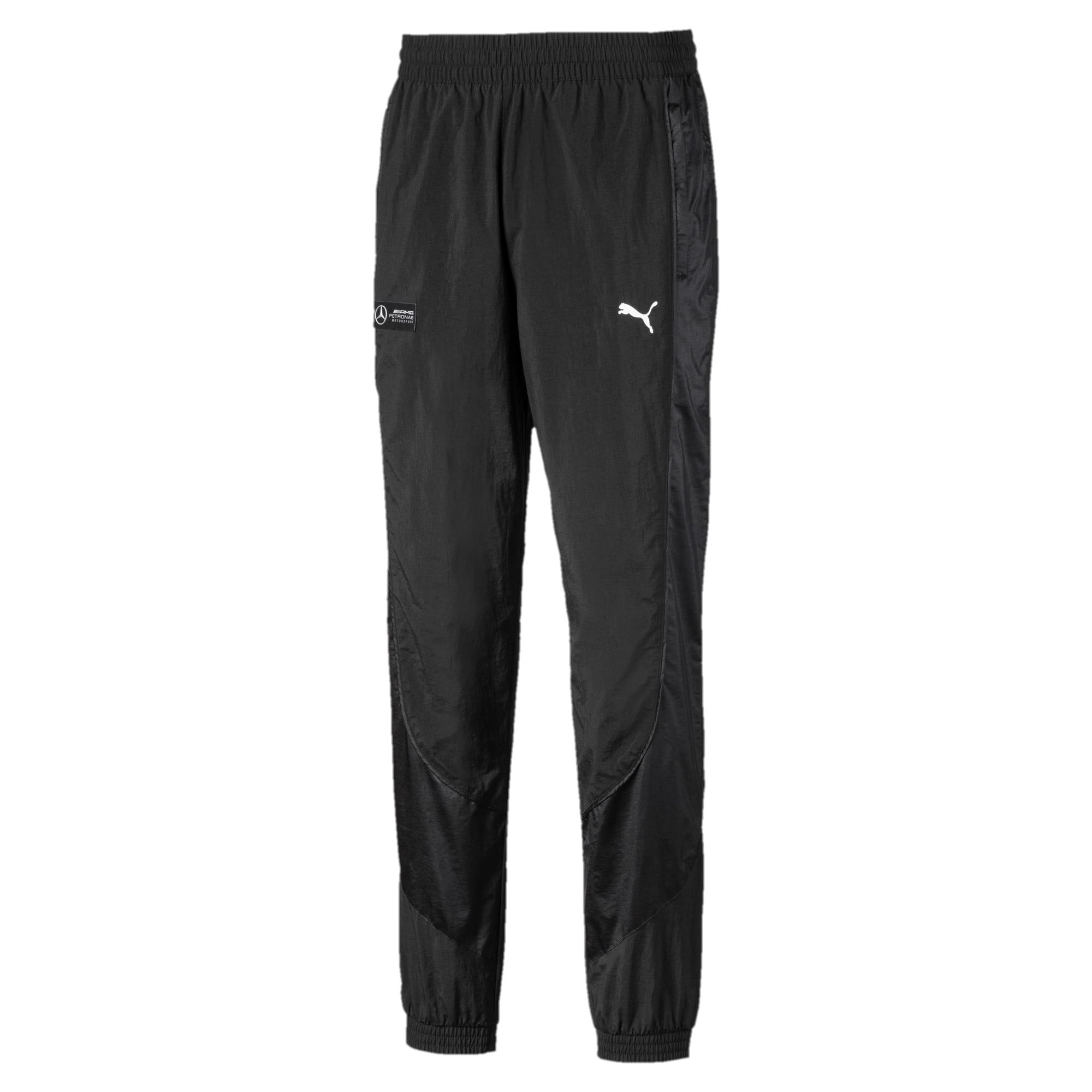 Thumbnail 1 of Mercedes Woven Men's Street Pants, Puma Black, medium