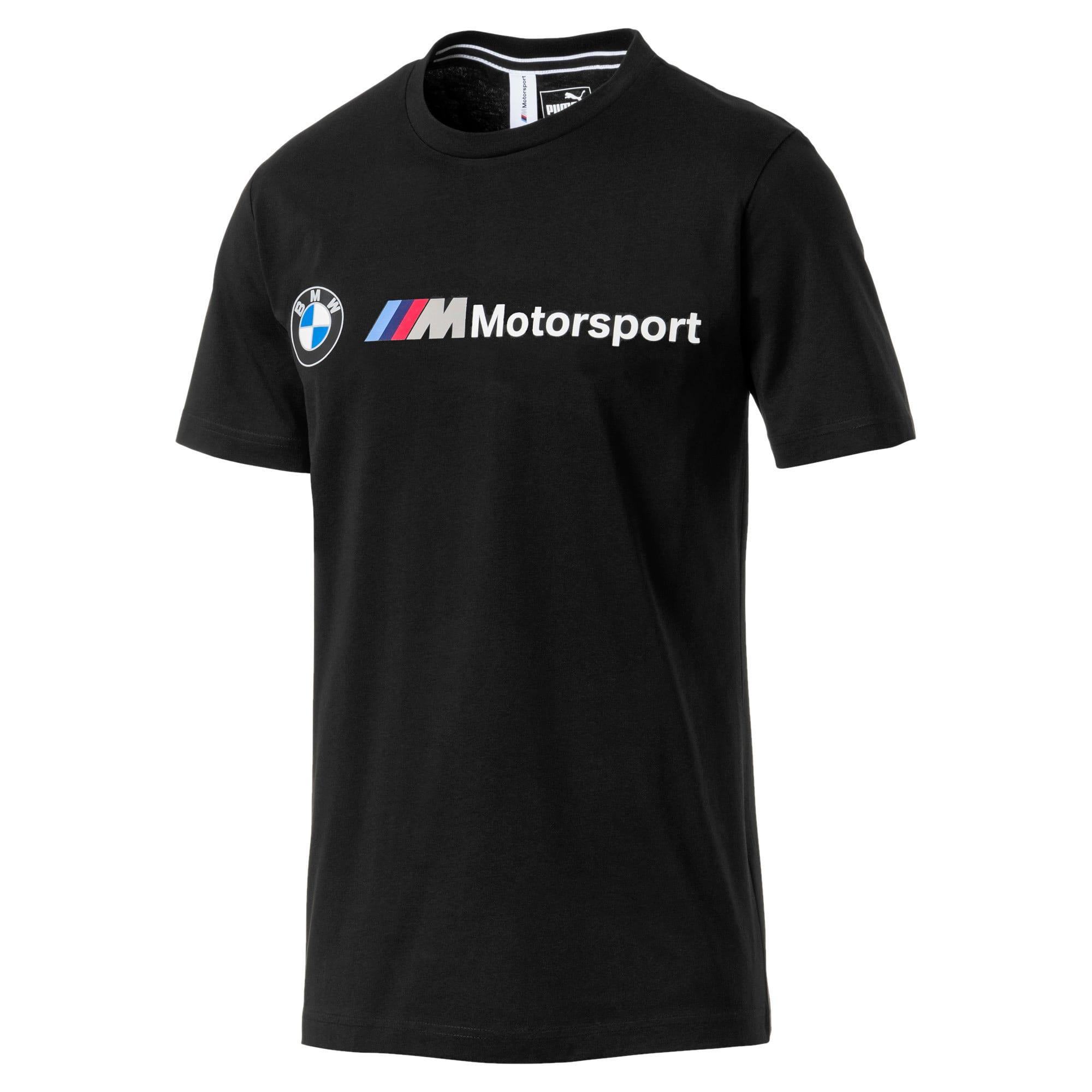 Thumbnail 4 of BMW M Motorsport Logo Men's Tee, Puma Black, medium
